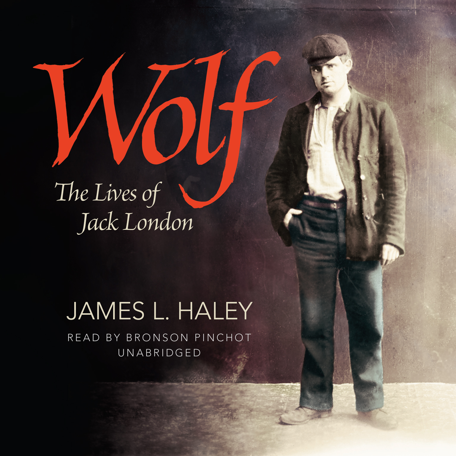 Printable Wolf: The Lives of Jack London Audiobook Cover Art