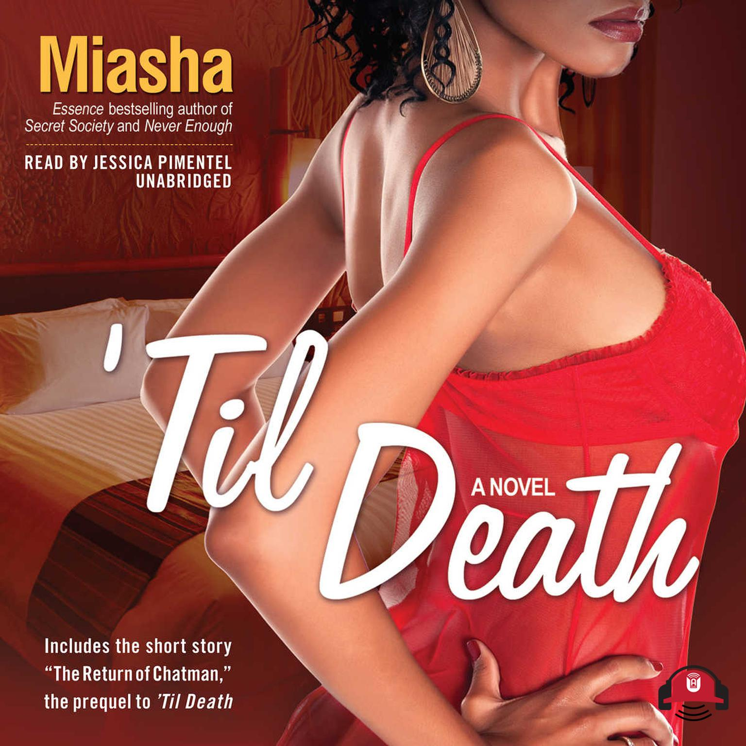 Printable 'Til Death Audiobook Cover Art
