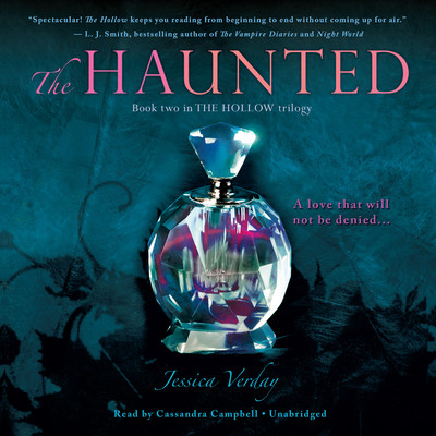 The Haunted Audiobook, by Jessica Verday