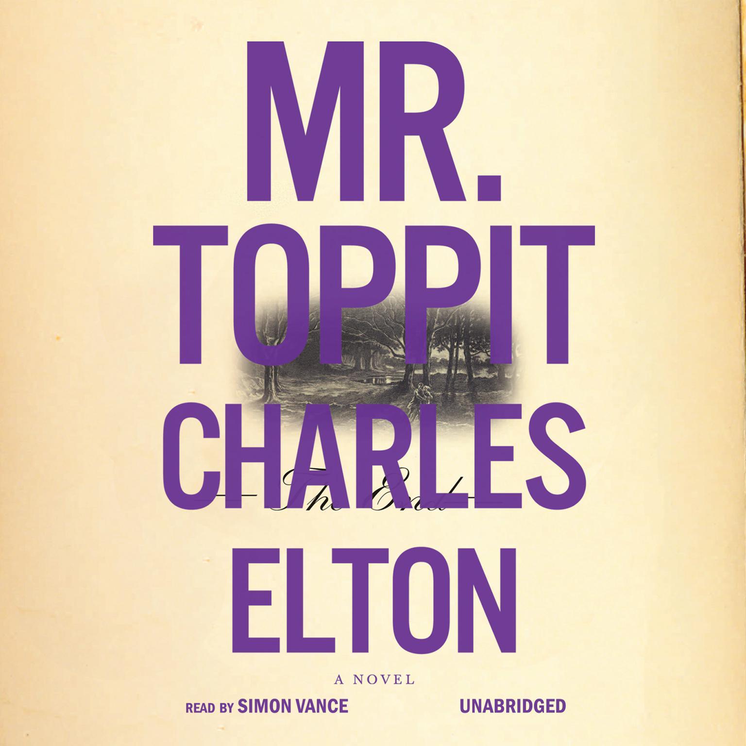 Printable Mr. Toppit Audiobook Cover Art
