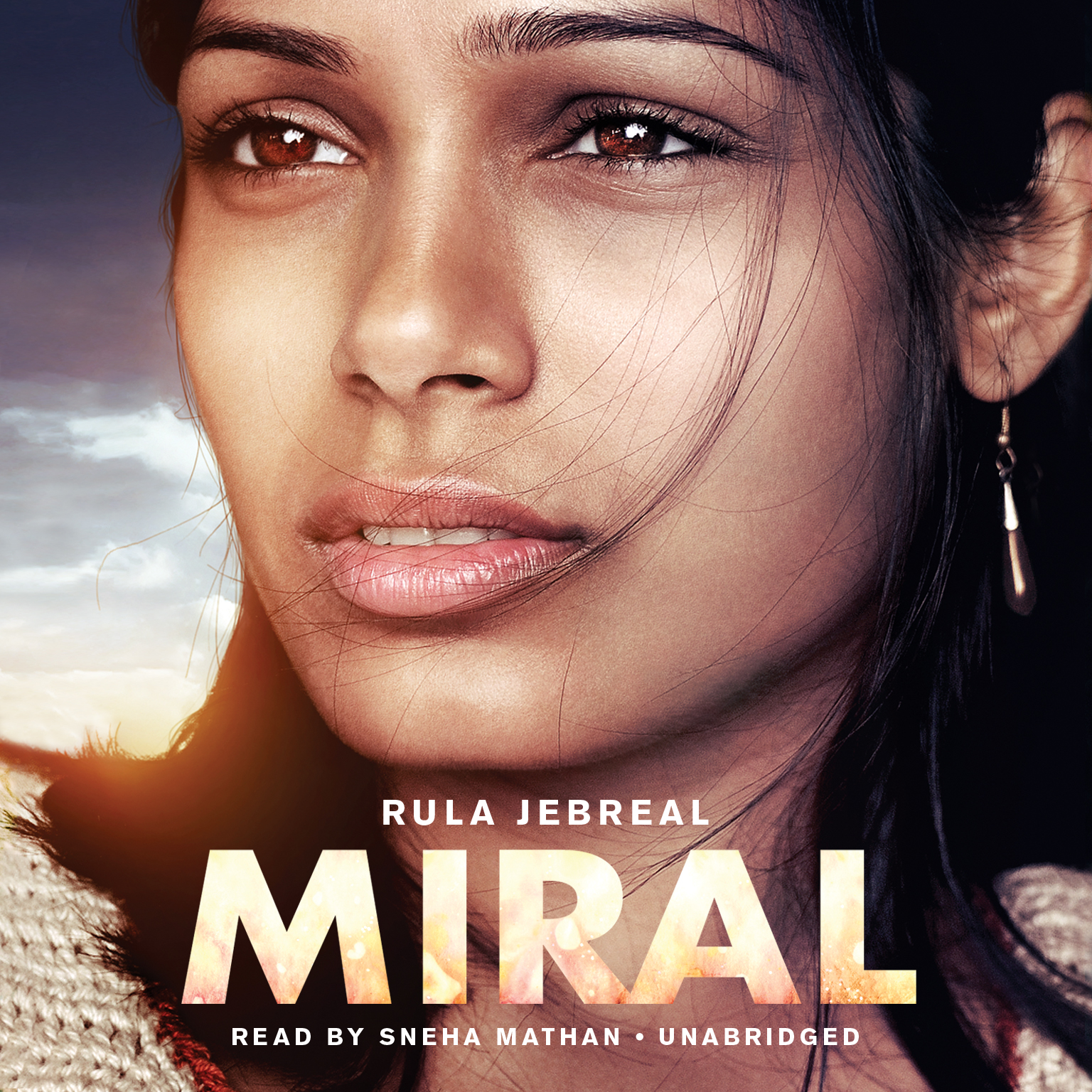 Printable Miral Audiobook Cover Art
