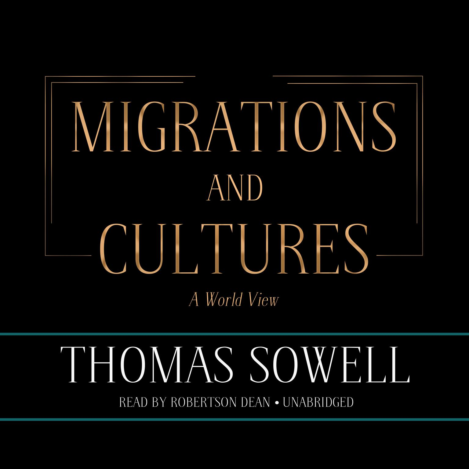 Printable Migrations and Cultures: A World View Audiobook Cover Art