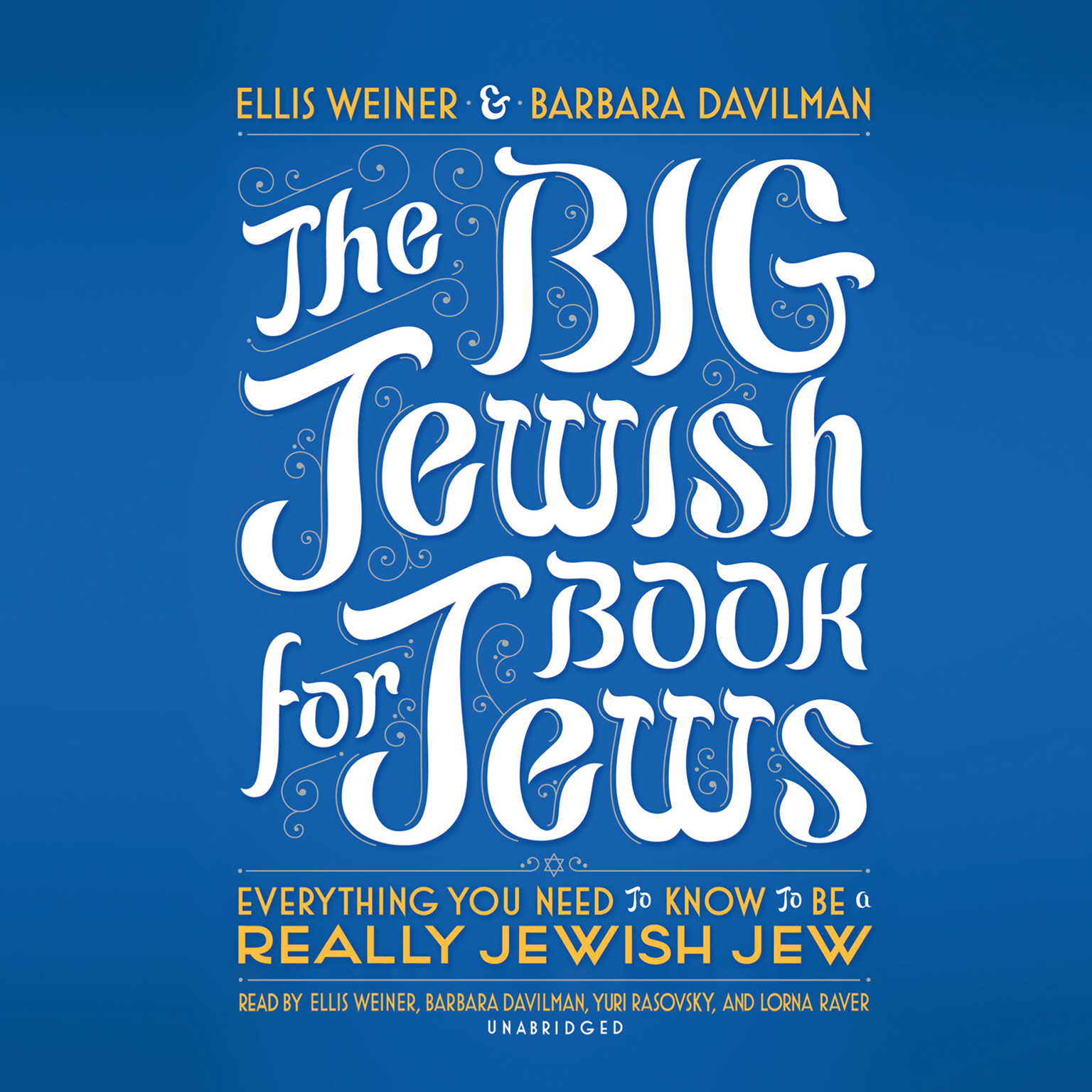 Printable The Big Jewish Book for Jews: Everything You Need to Know to Be a Really Jewish Jew Audiobook Cover Art
