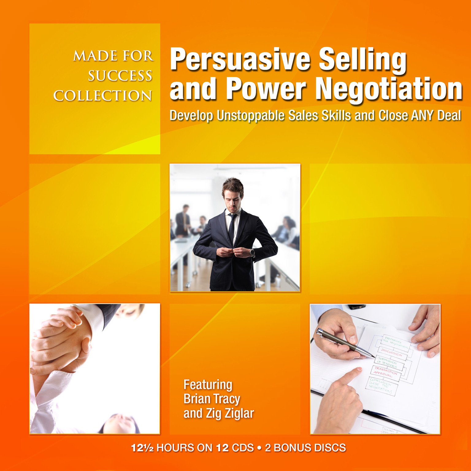 Printable Persuasive Selling and Power Negotiation: Develop Unstoppable Sales Skills and Close ANY Deal Audiobook Cover Art