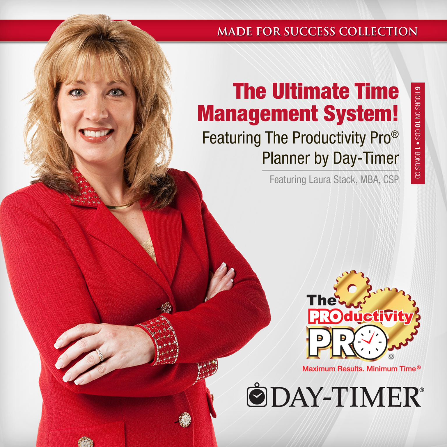 Printable The Ultimate Time Management System!: Featuring The Productivity Pro® Planner by Day-Timer Audiobook Cover Art