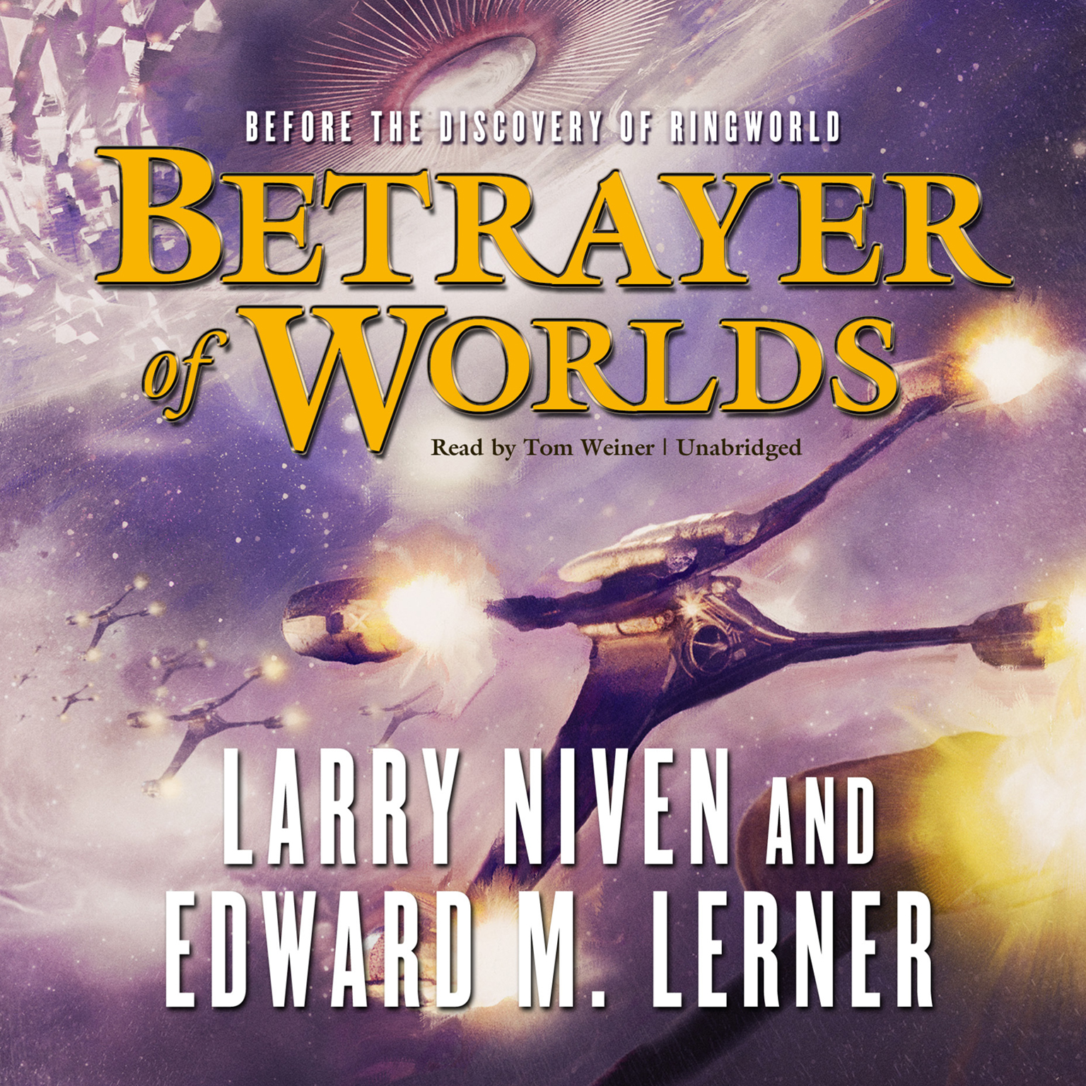 Printable Betrayer of Worlds Audiobook Cover Art