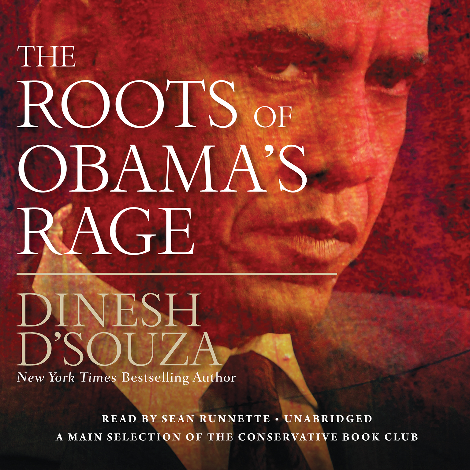 Printable The Roots of Obama's Rage Audiobook Cover Art