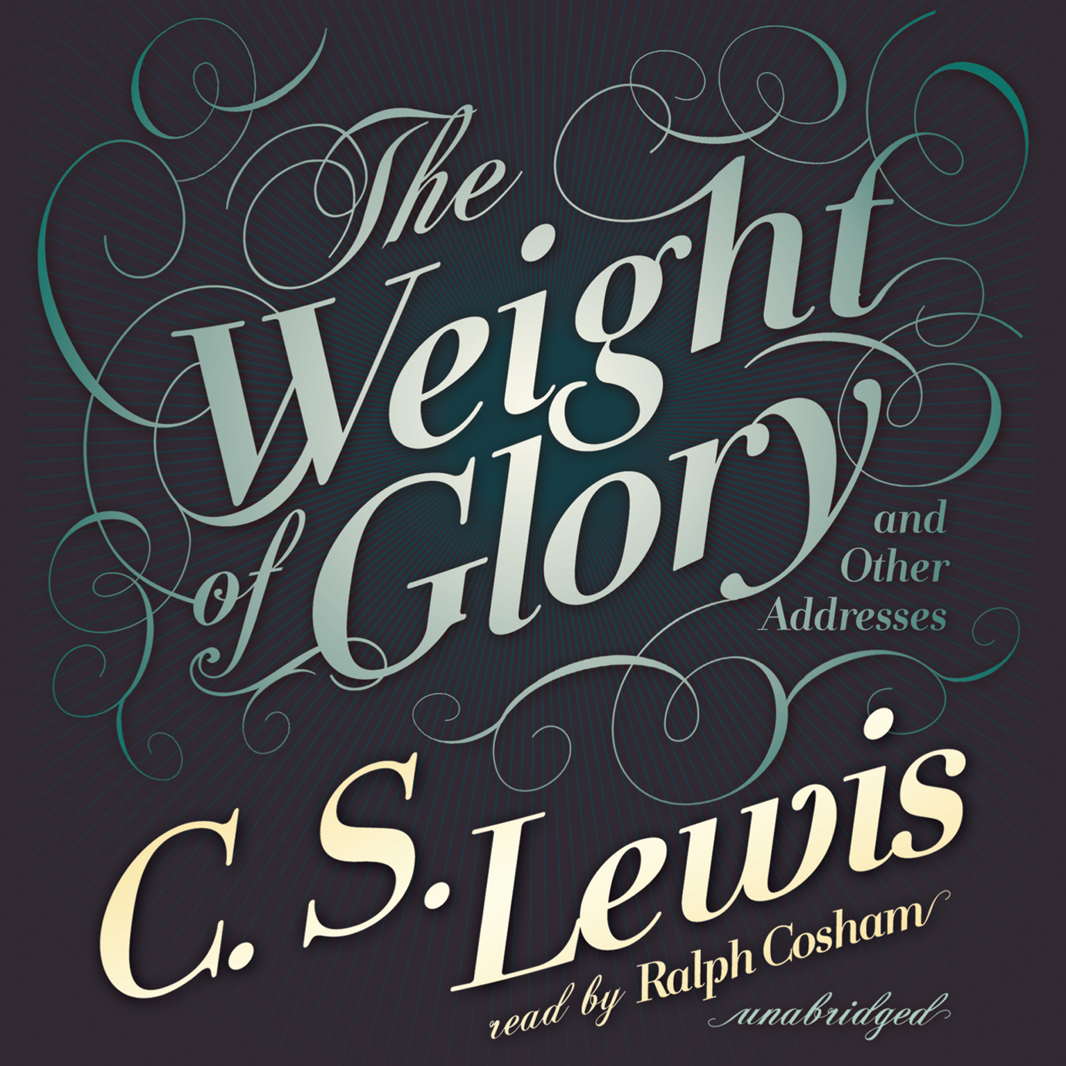 Printable The Weight of Glory: And Other Addresses Audiobook Cover Art