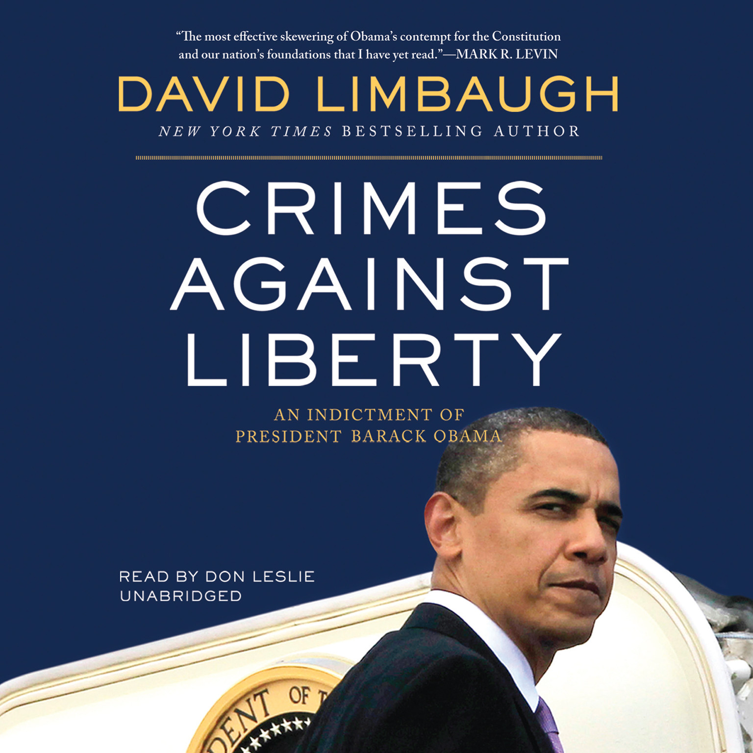 Printable Crimes against Liberty: An Indictment of President Barack Obama Audiobook Cover Art