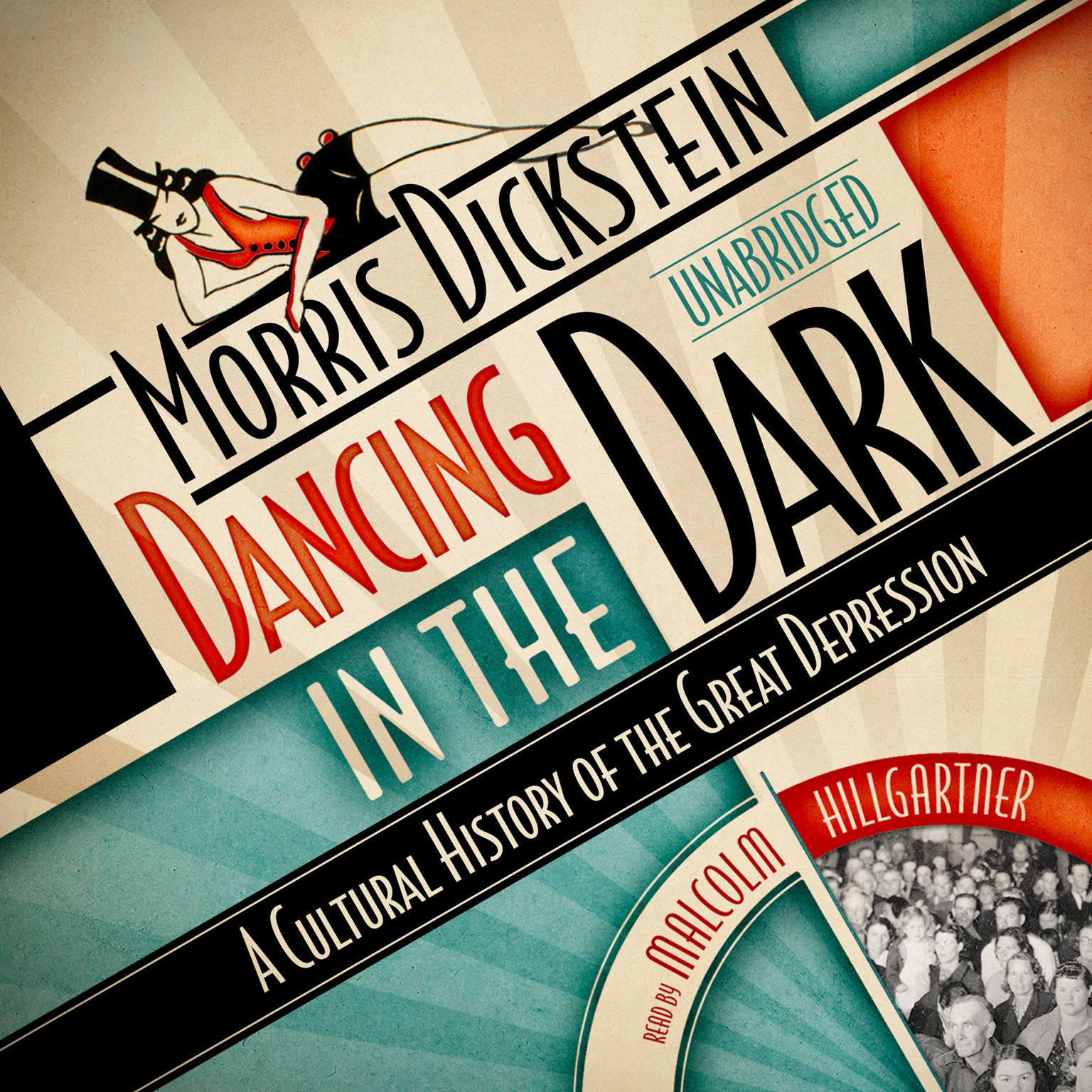 Printable Dancing in the Dark: A Cultural History of the Great Depression Audiobook Cover Art