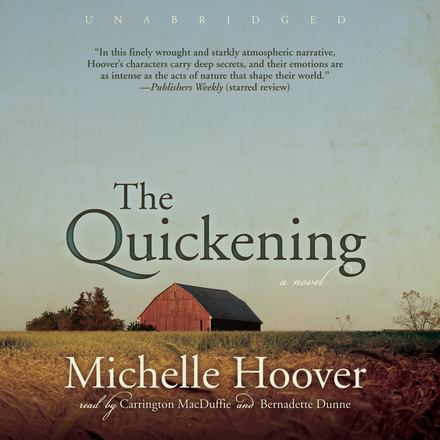 Printable The Quickening: A Novel Audiobook Cover Art