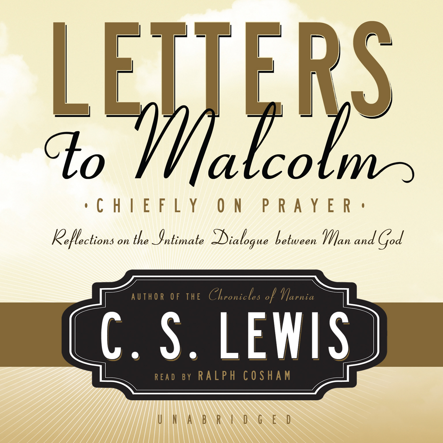 Printable Letters to Malcolm: Chiefly on Prayer Audiobook Cover Art
