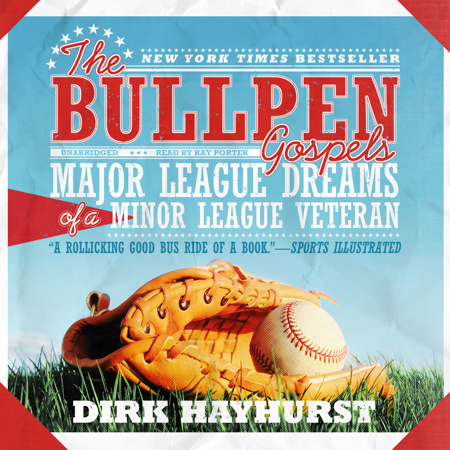 Printable The Bullpen Gospels: Major League Dreams of a Minor League Veteran Audiobook Cover Art
