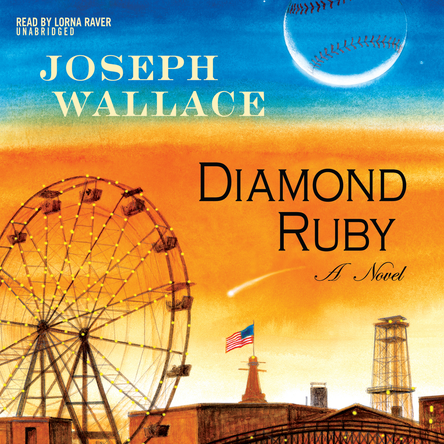 Printable Diamond Ruby: A Novel Audiobook Cover Art
