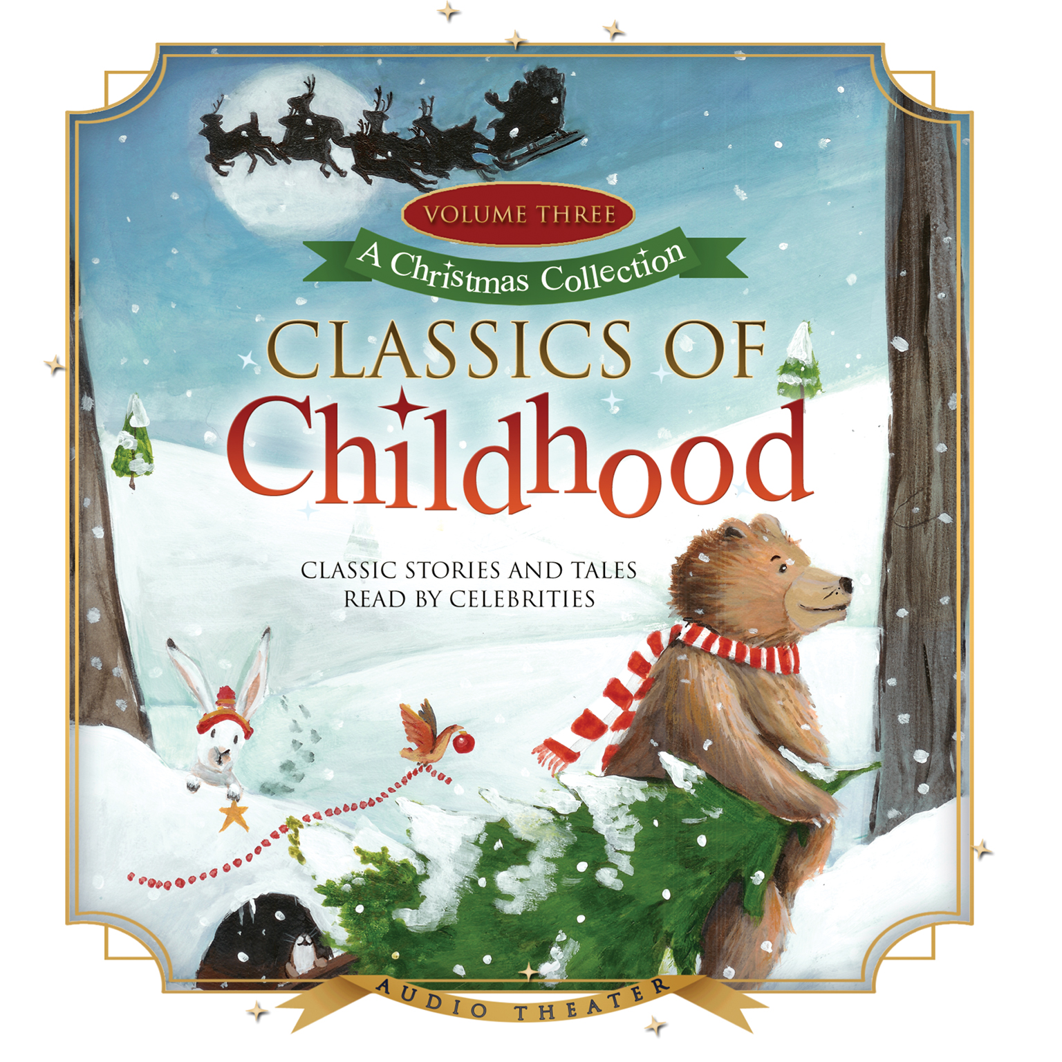 Printable Classics of Childhood, Vol. 3: A Christmas Collection Audiobook Cover Art