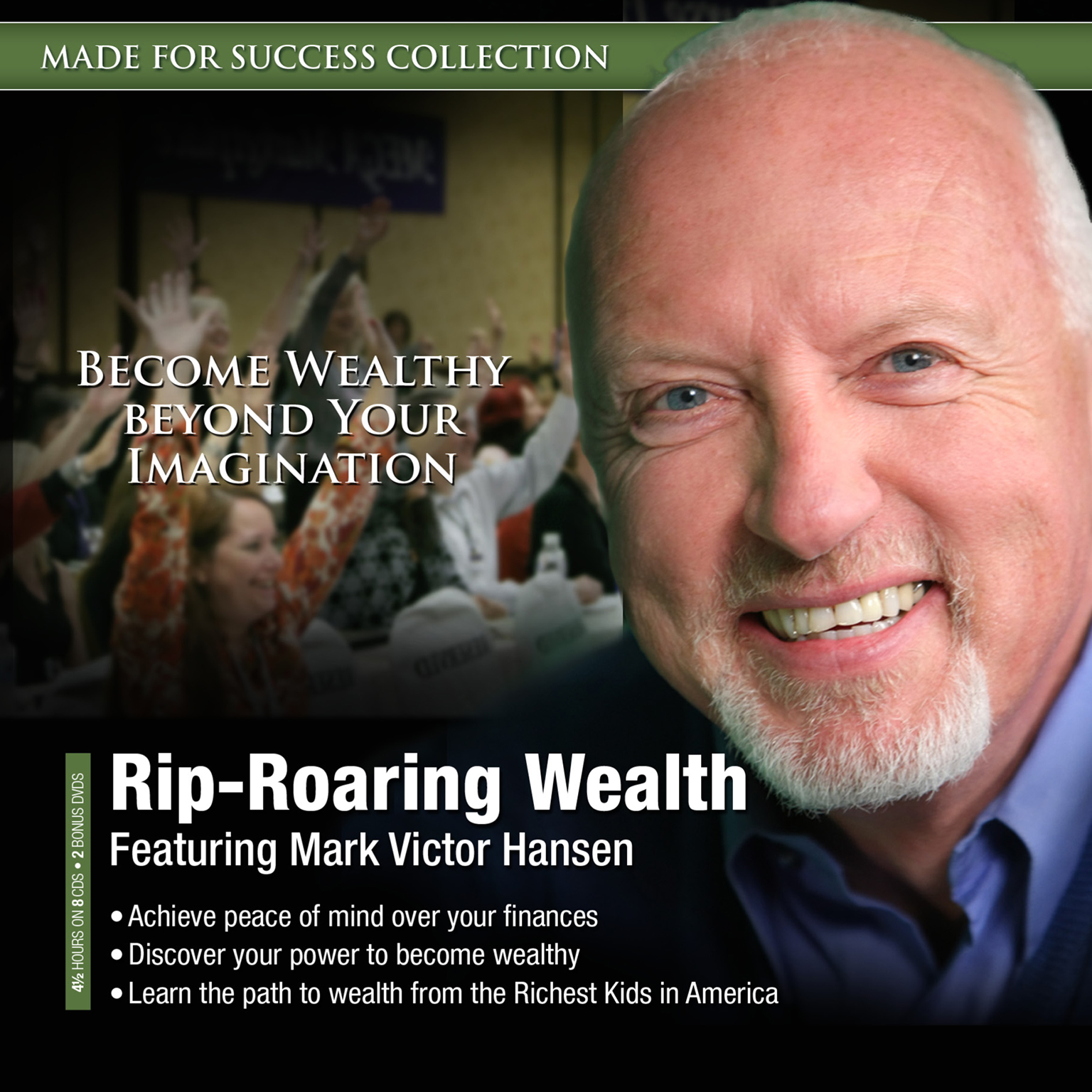 Printable Rip-Roaring Wealth Audiobook Cover Art