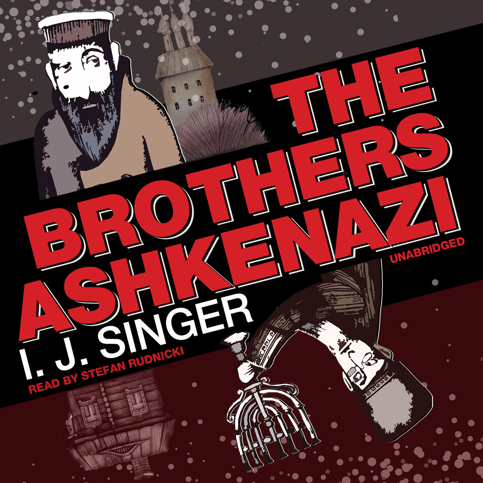 Printable The Brothers Ashkenazi Audiobook Cover Art