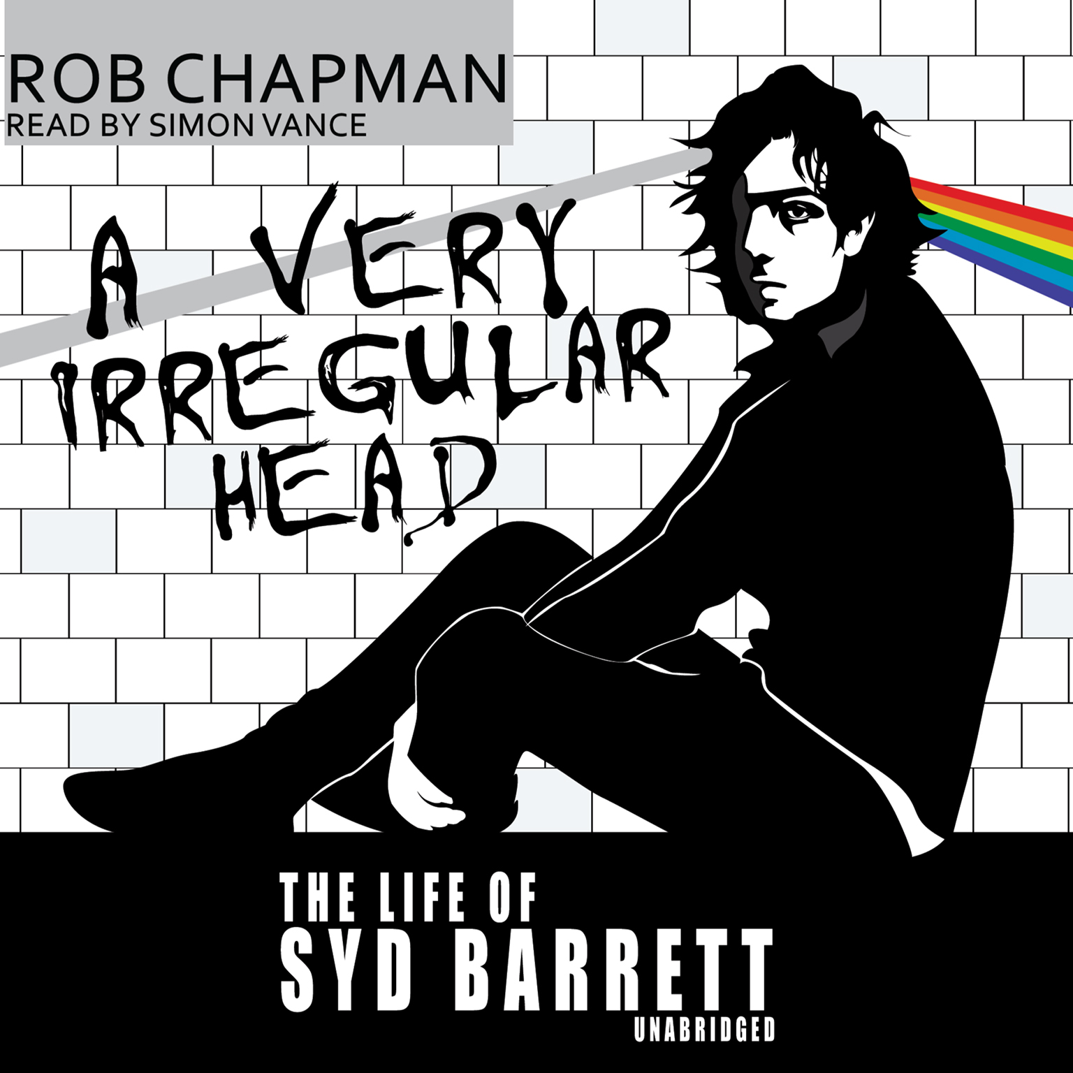 Printable A Very Irregular Head: The Life of Syd Barrett Audiobook Cover Art