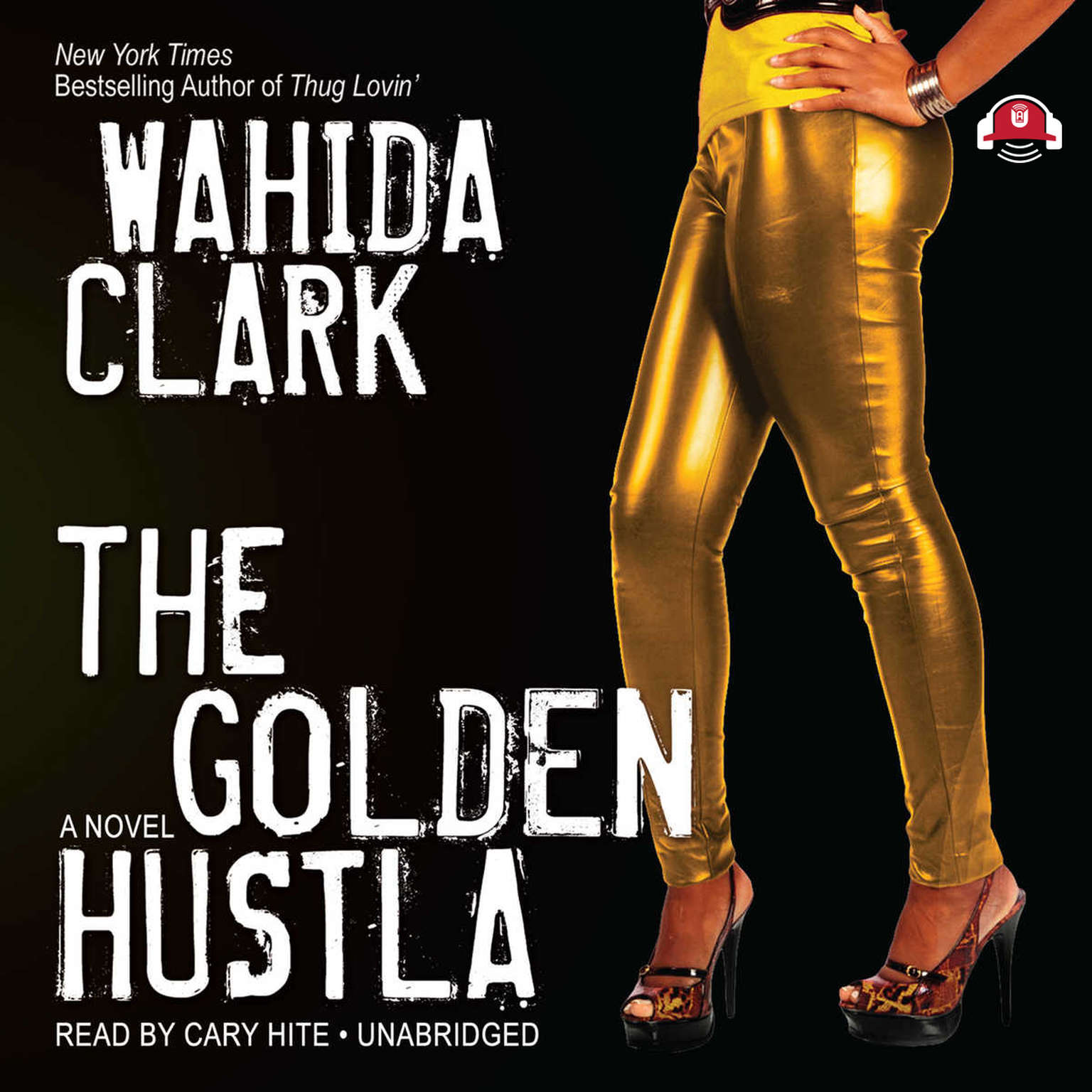 Printable The Golden Hustla Audiobook Cover Art