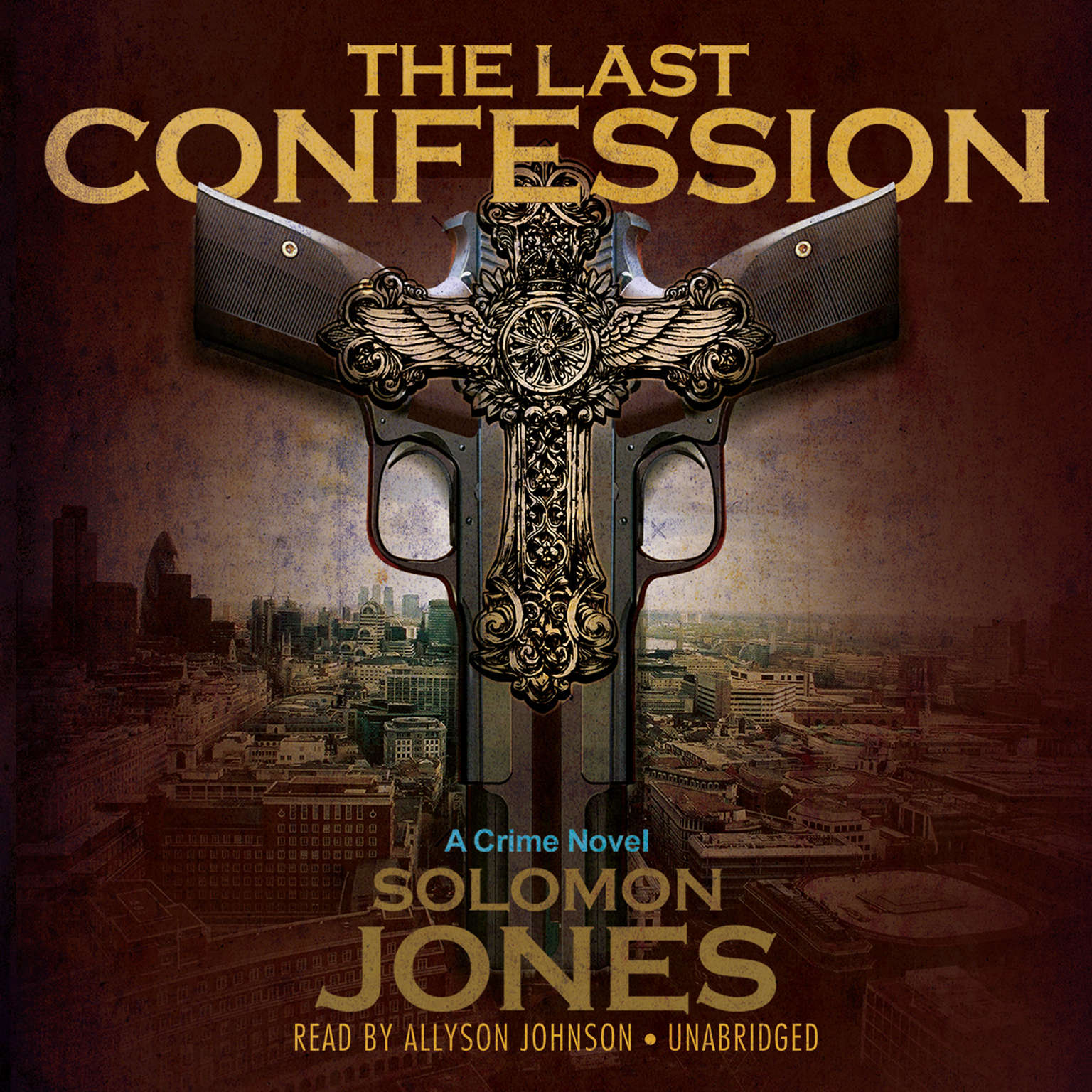 Printable The Last Confession Audiobook Cover Art