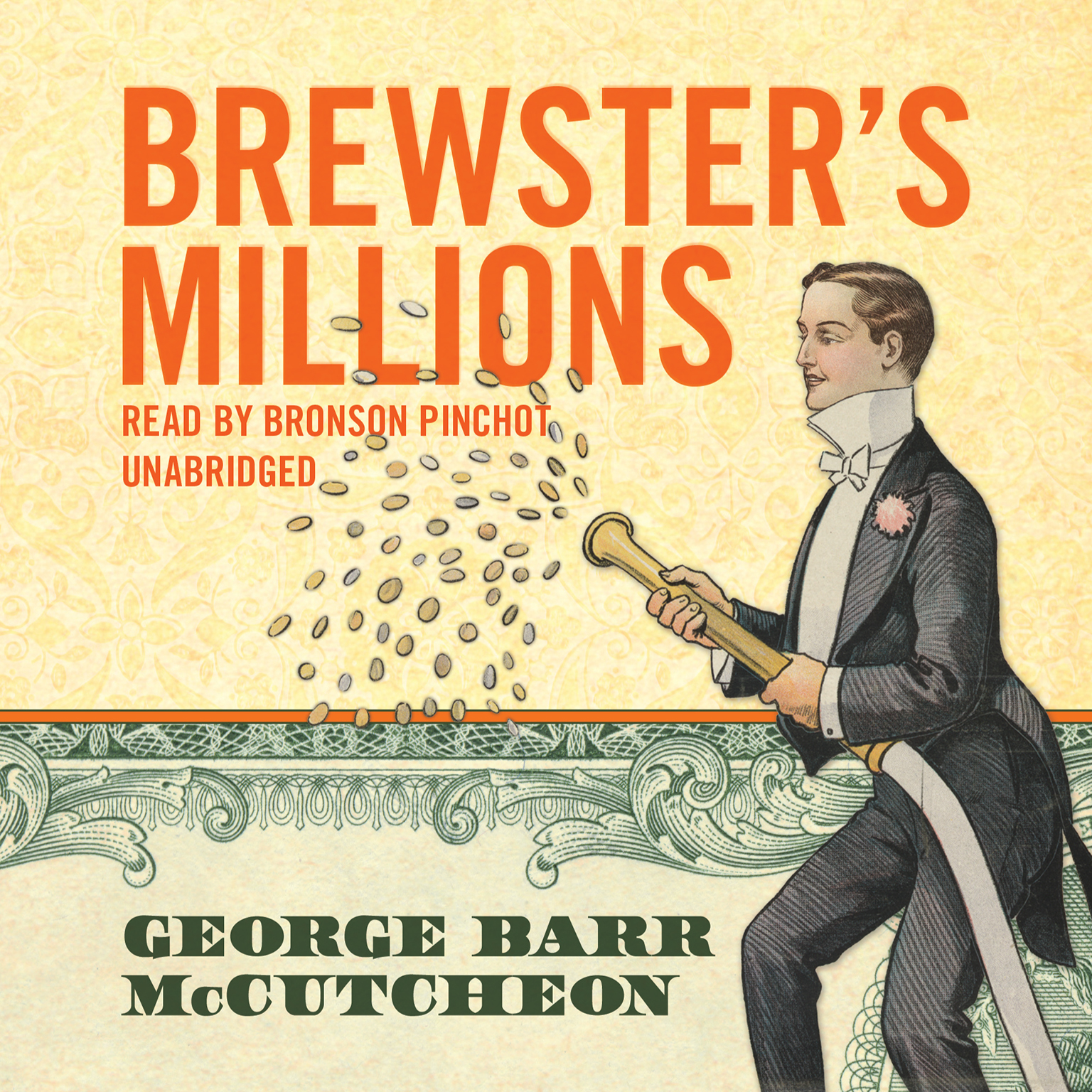 Printable Brewster's Millions Audiobook Cover Art