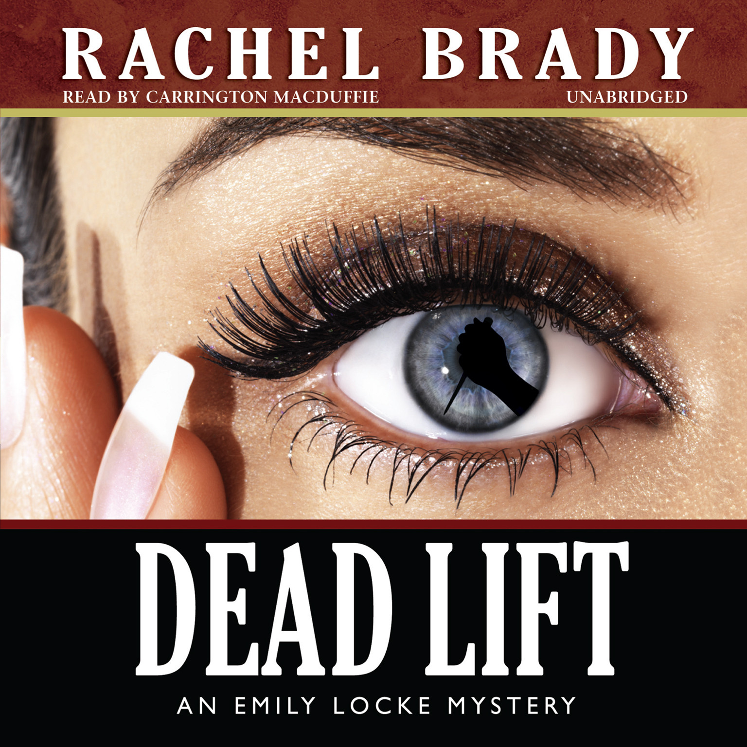 Printable Dead Lift: An Emily Locke Mystery Audiobook Cover Art