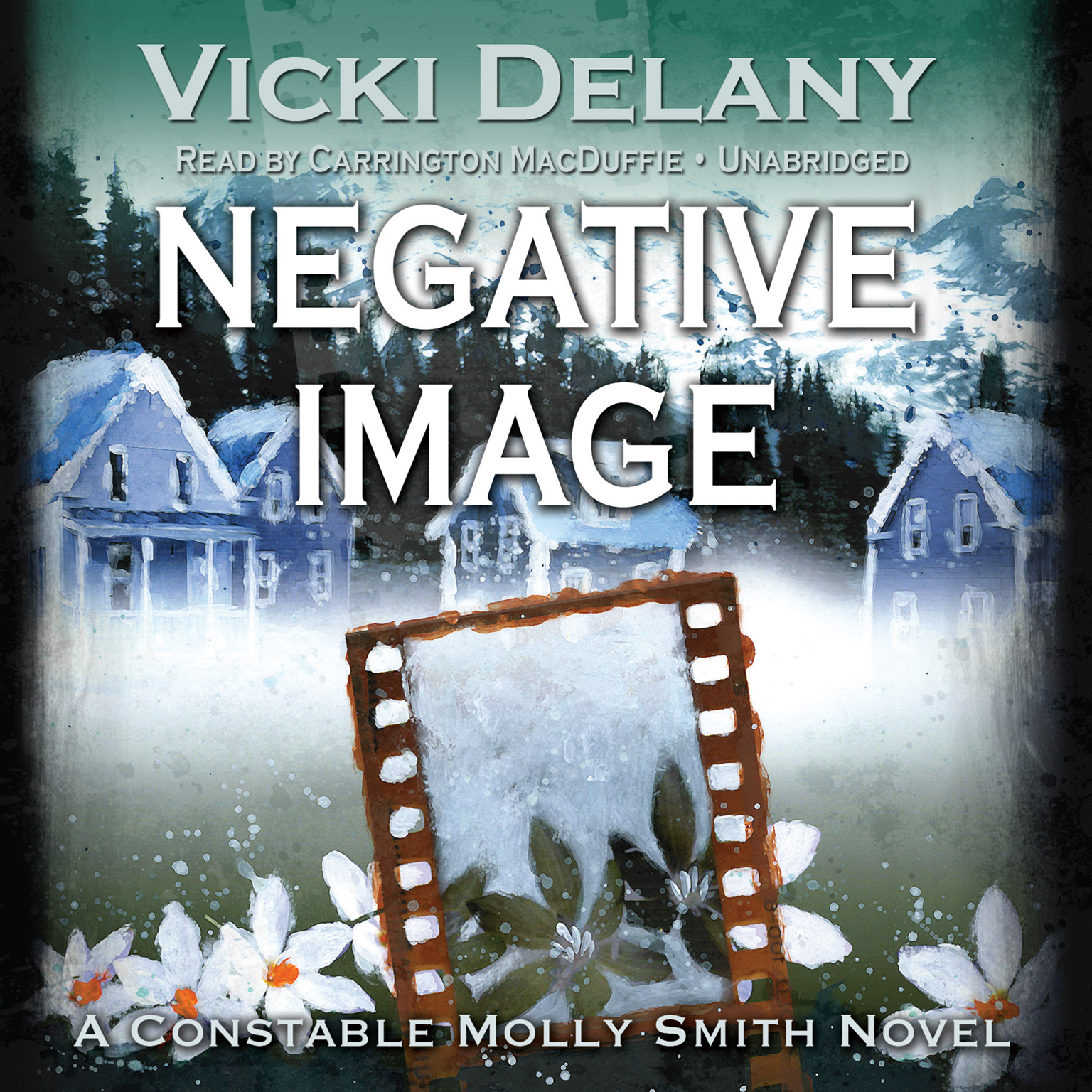 Printable Negative Image: A Constable Molly Smith Novel Audiobook Cover Art
