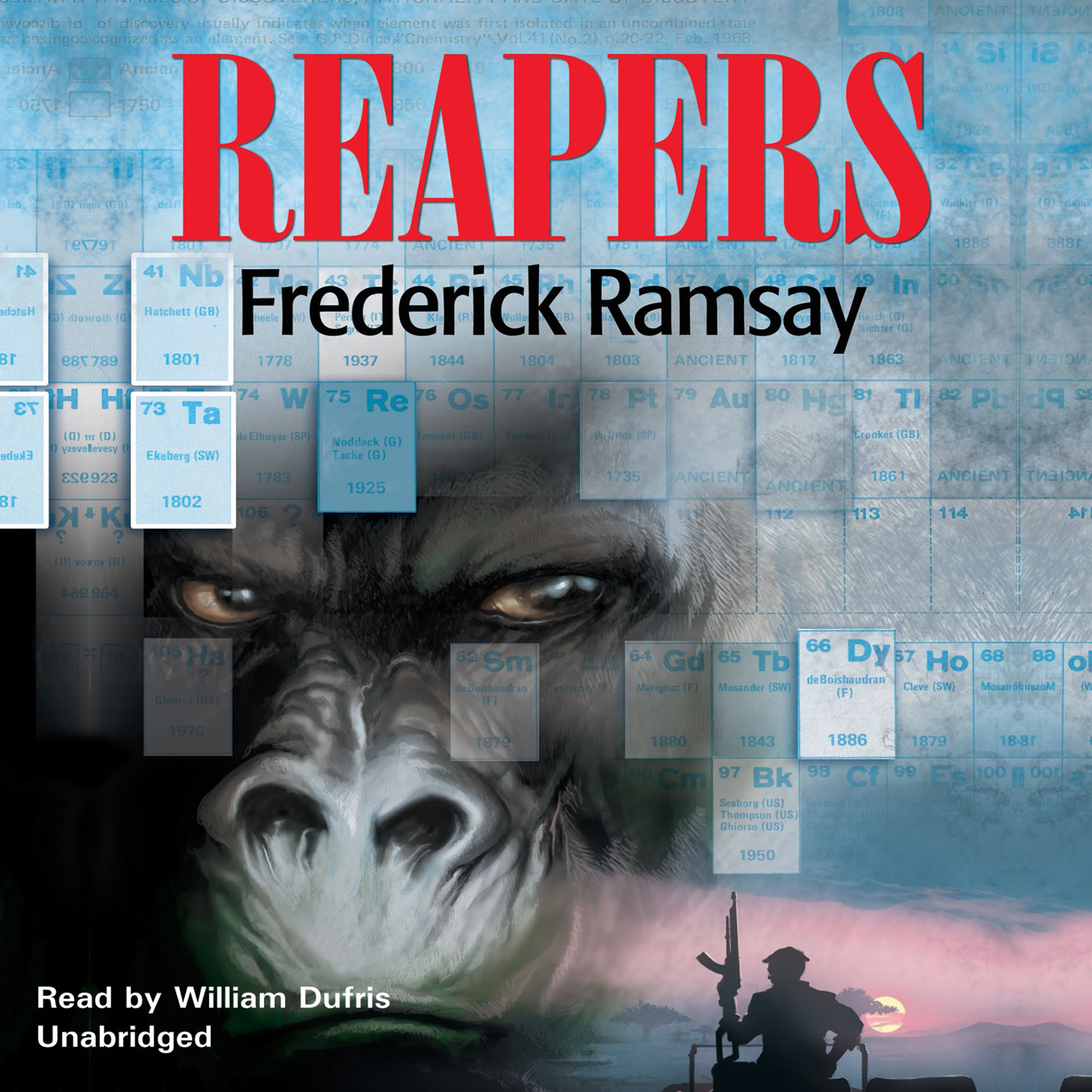 Printable Reapers: A Botswana Mystery Audiobook Cover Art