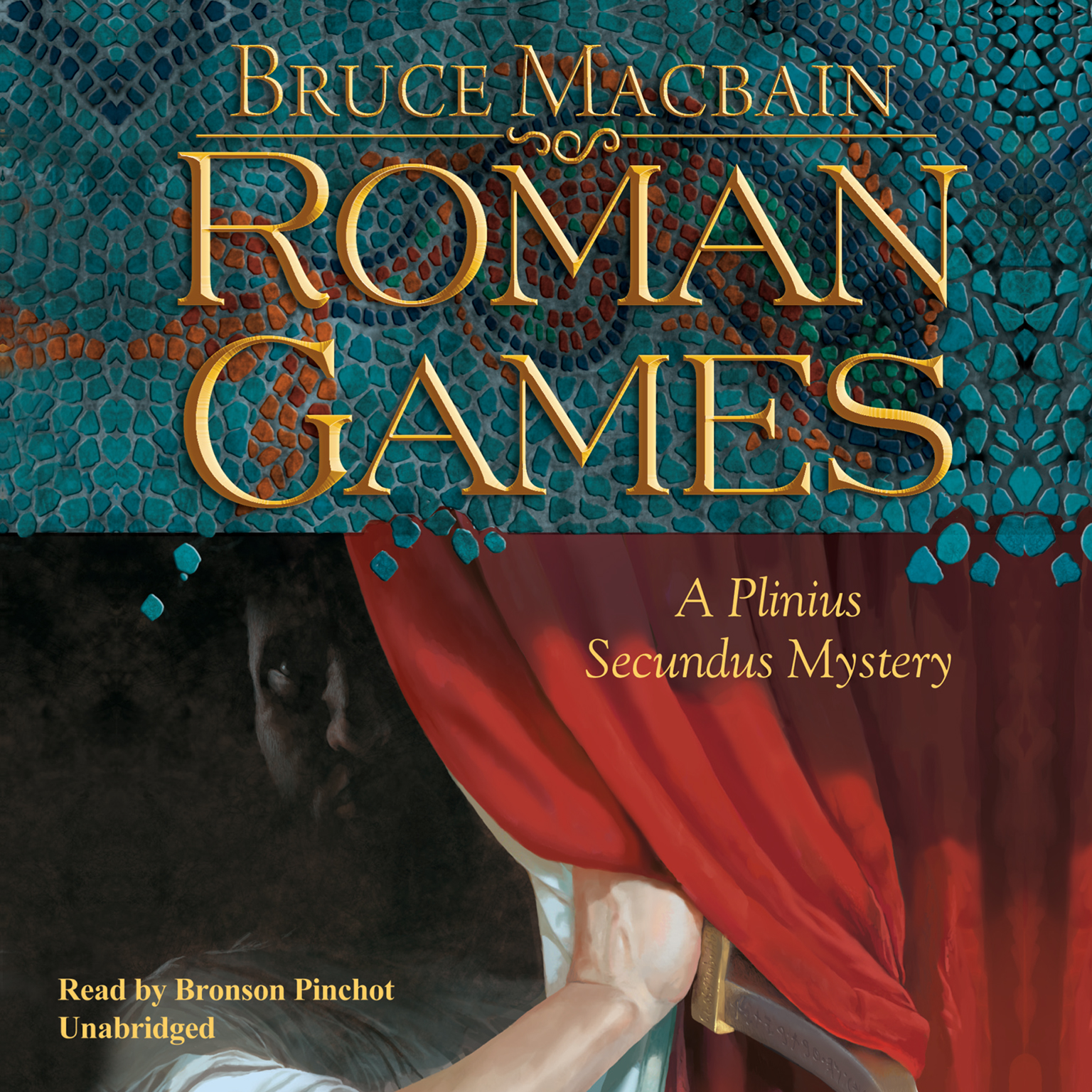 Printable Roman Games: A Plinius Secundus Mystery Audiobook Cover Art