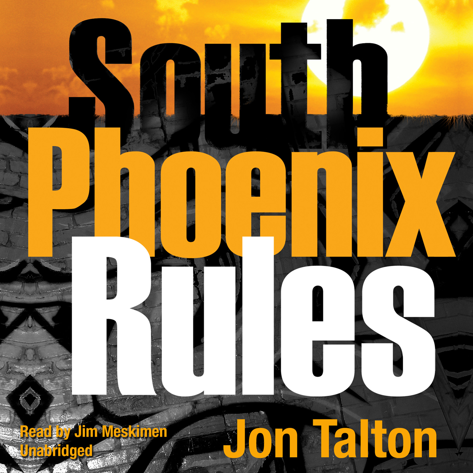 Printable South Phoenix Rules: A David Mapstone Mystery Audiobook Cover Art