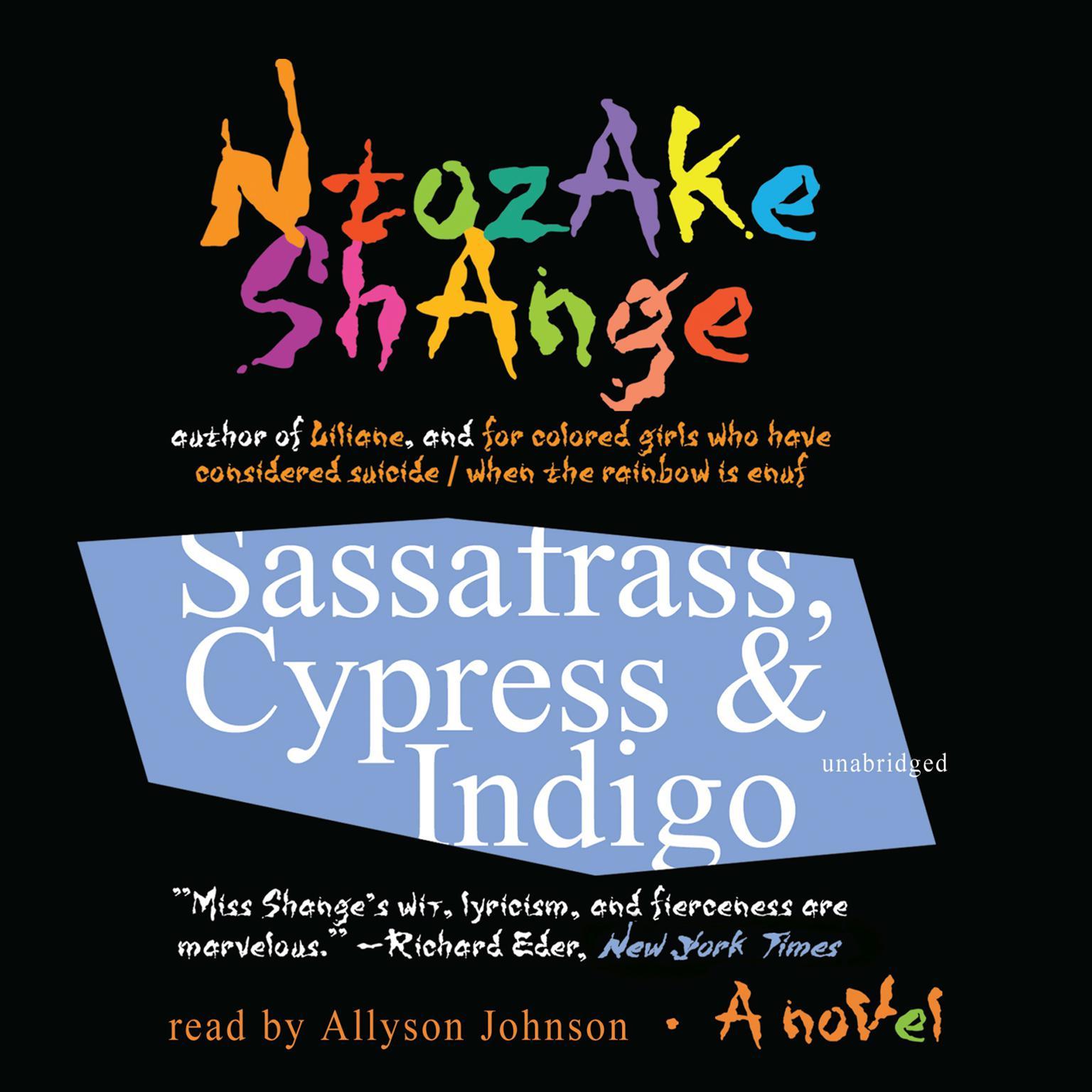 Printable Sassafrass, Cypress & Indigo: A Novel Audiobook Cover Art