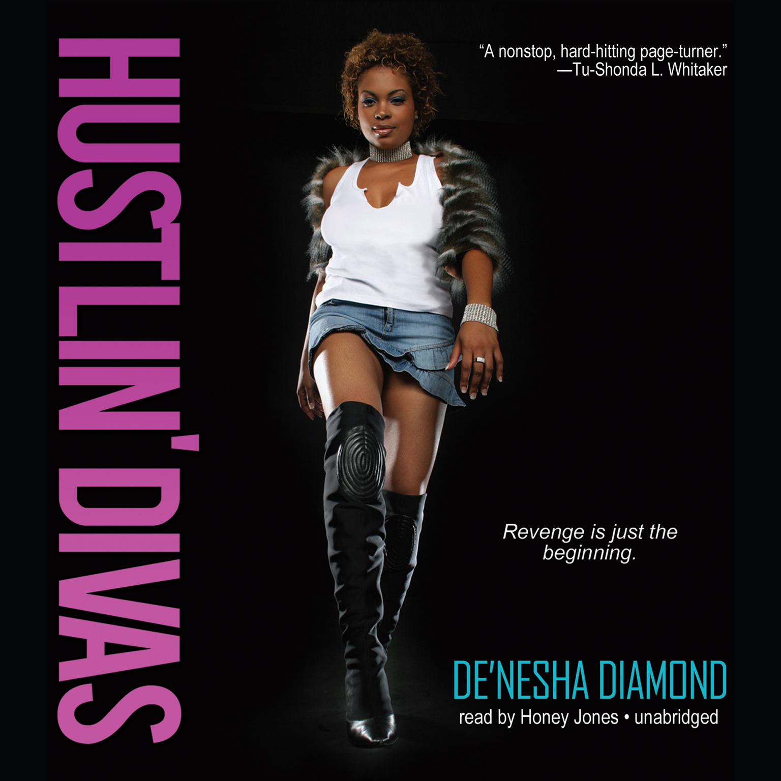 Printable Hustlin' Divas Audiobook Cover Art