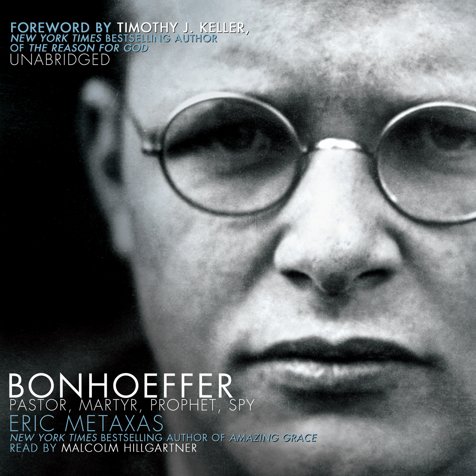 Printable Bonhoeffer: Pastor, Martyr, Prophet, Spy Audiobook Cover Art