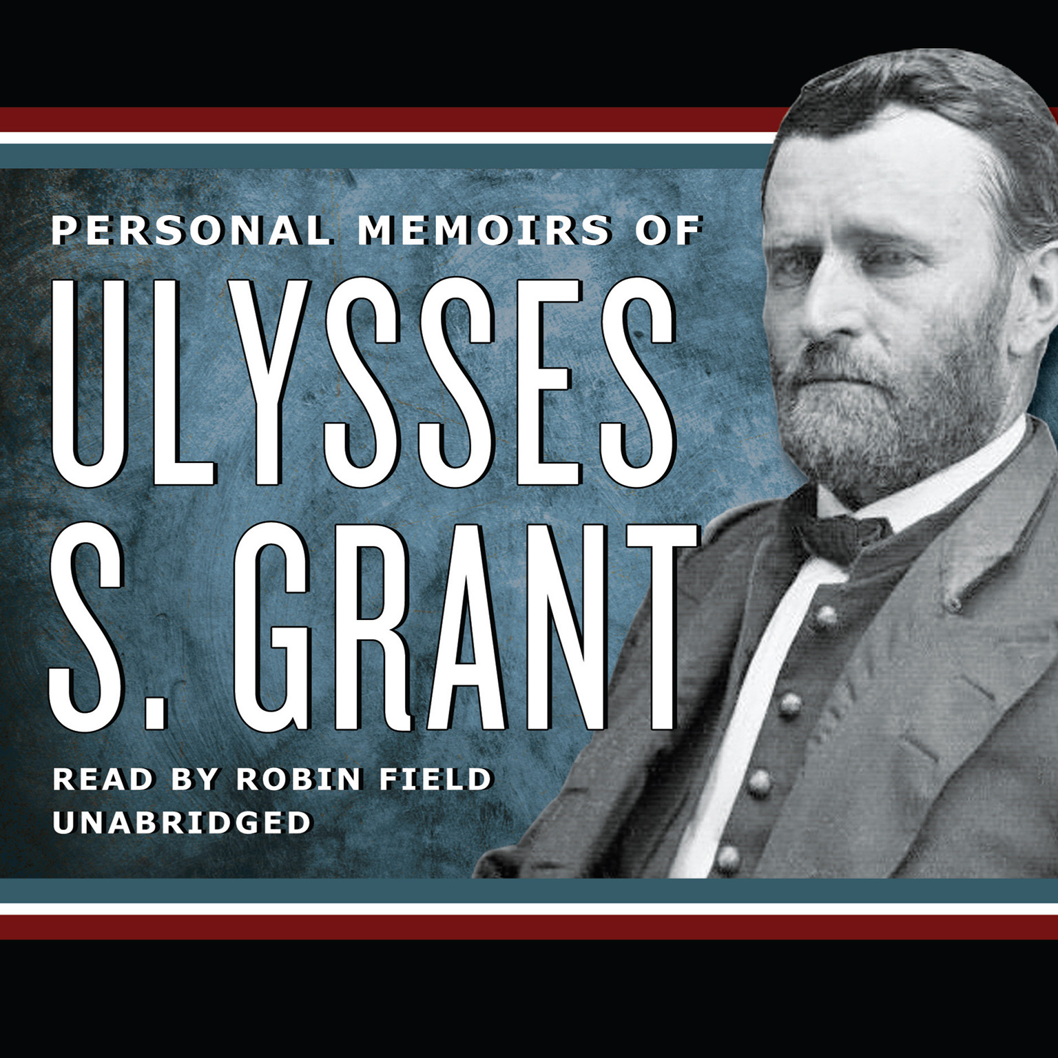 Printable Personal Memoirs of Ulysses S. Grant Audiobook Cover Art