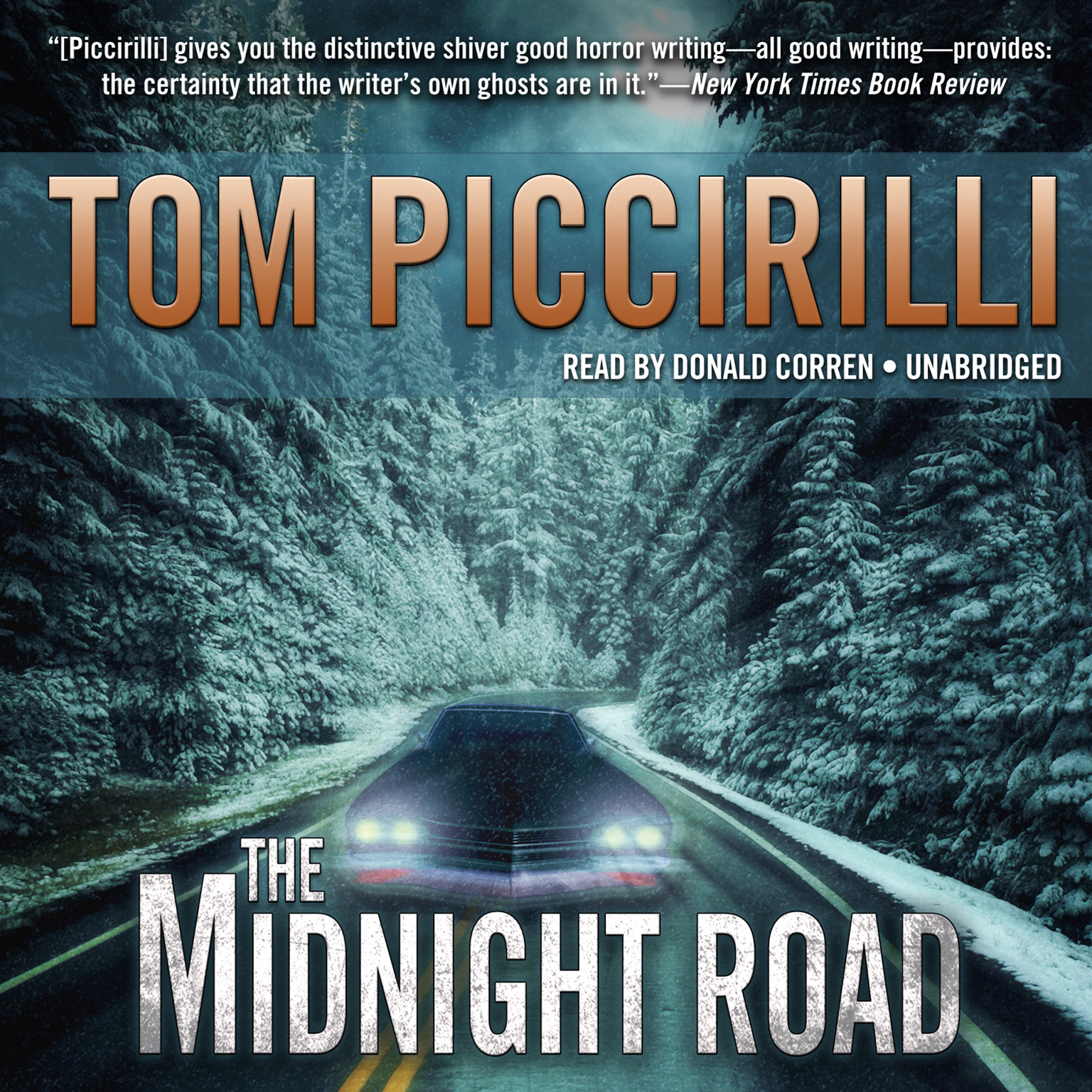 Printable The Midnight Road Audiobook Cover Art