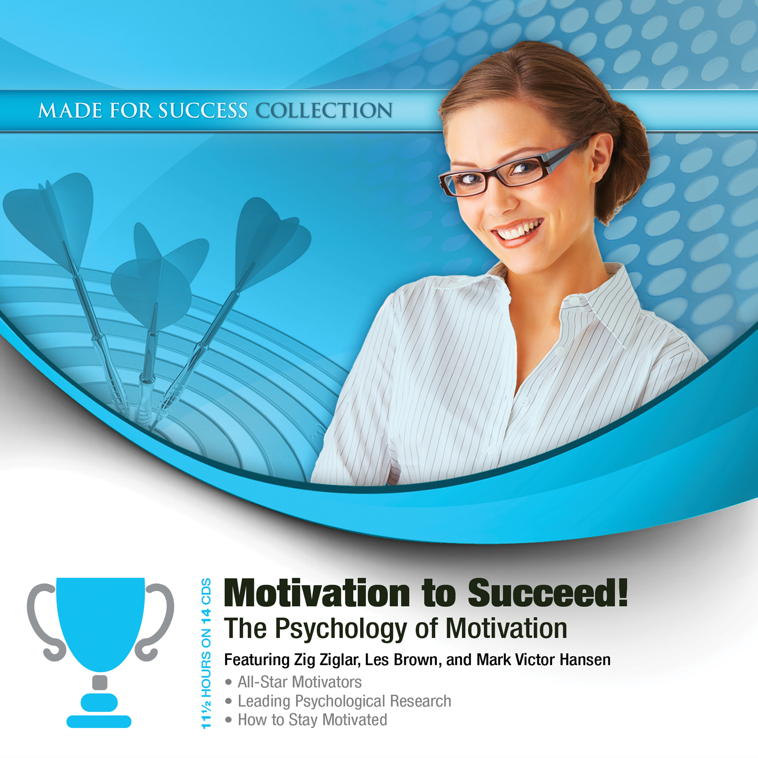Printable Motivation to Succeed!: The Psychology of Motivation Audiobook Cover Art