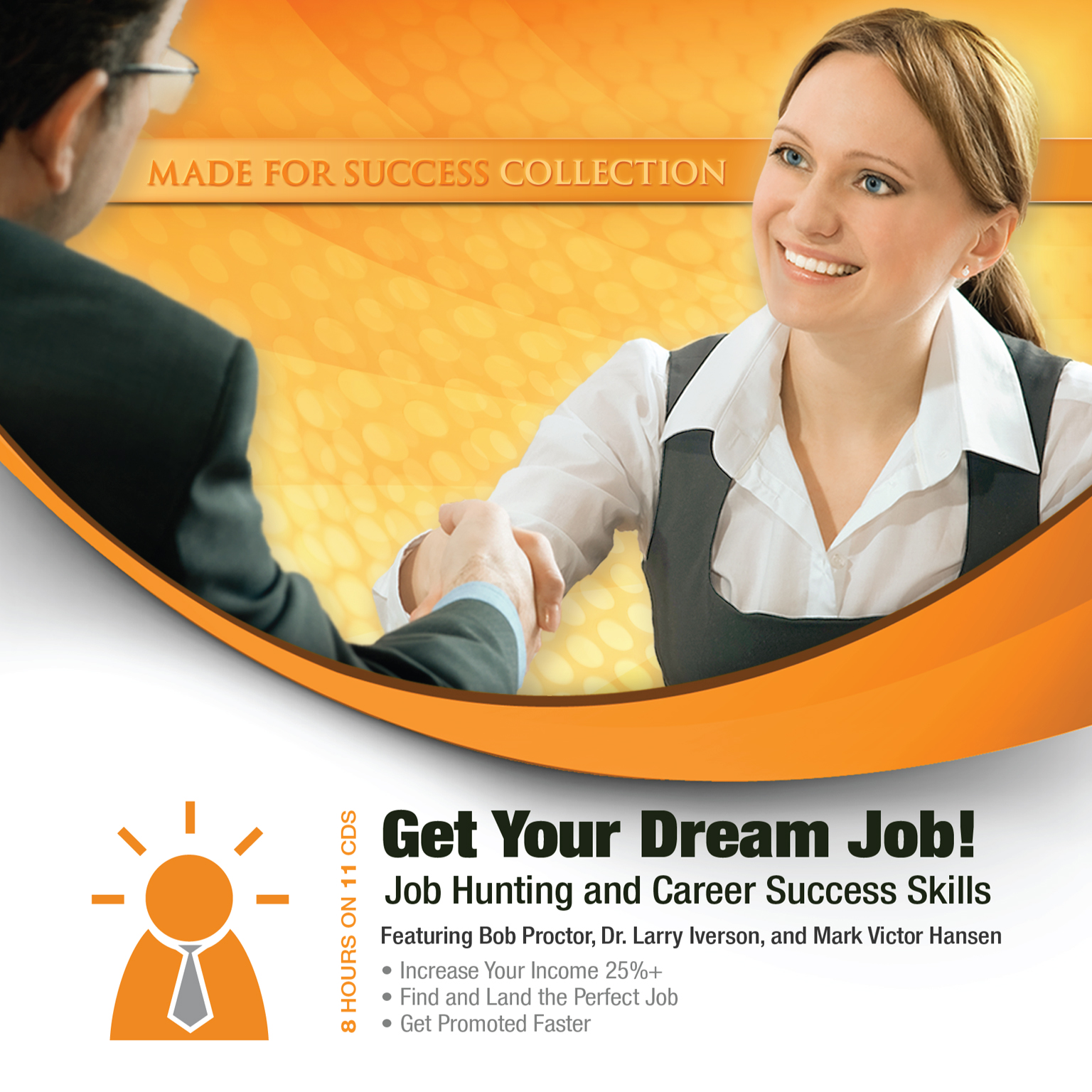 Printable Get Your Dream Job!: Job Hunting and Career Success Skills Audiobook Cover Art