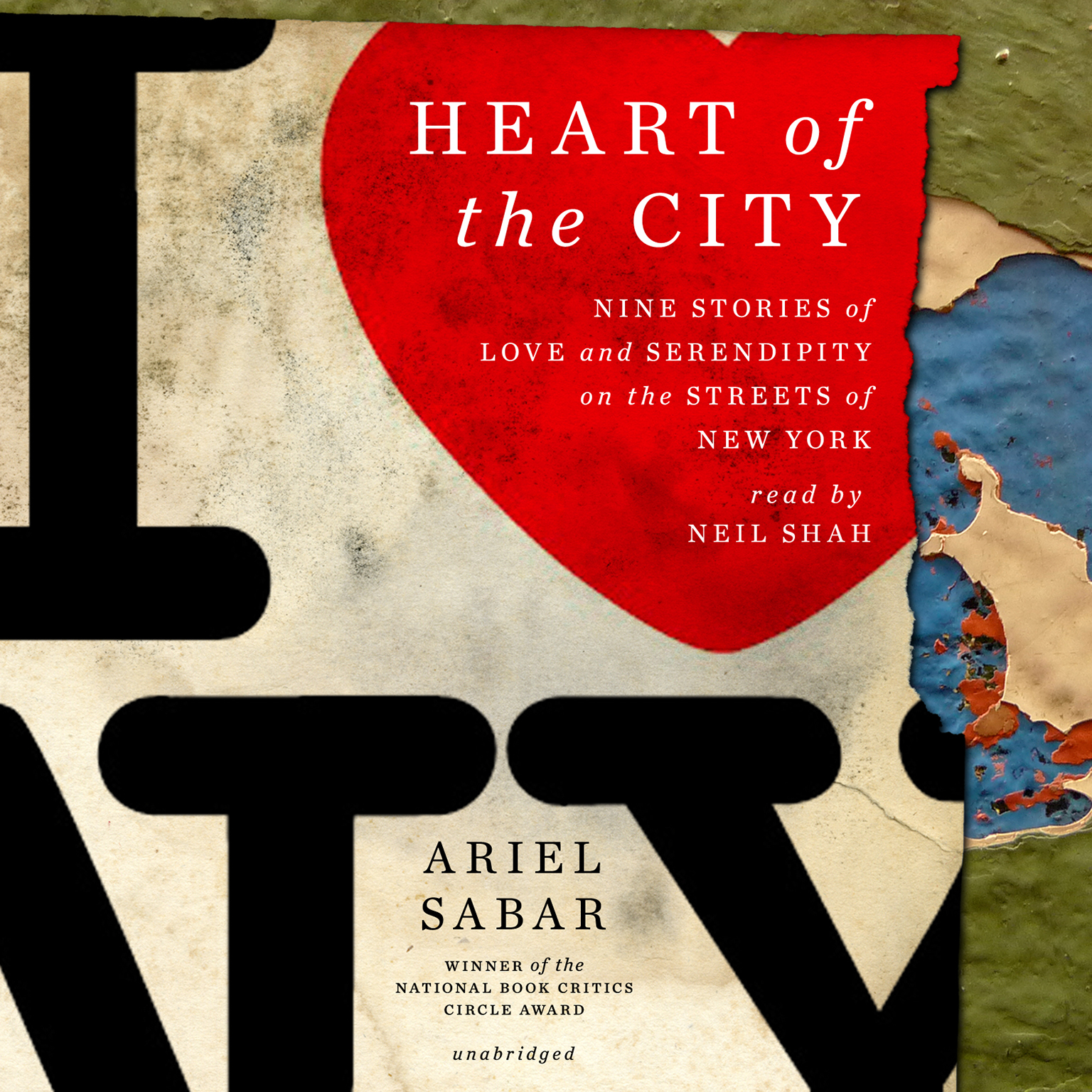 Printable Heart of the City: Nine Stories of Love and Serendipity on the Streets of New York Audiobook Cover Art