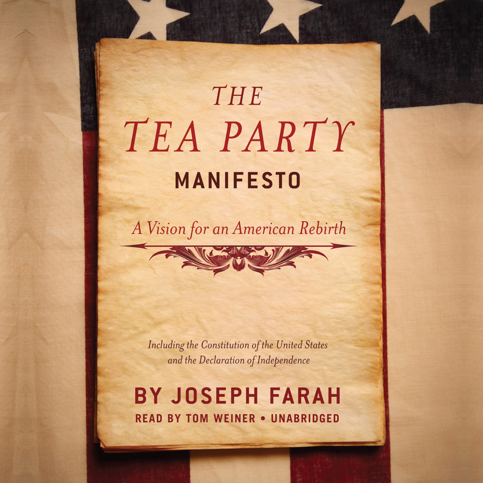 Printable The Tea Party Manifesto: A Vision for an American Rebirth Audiobook Cover Art
