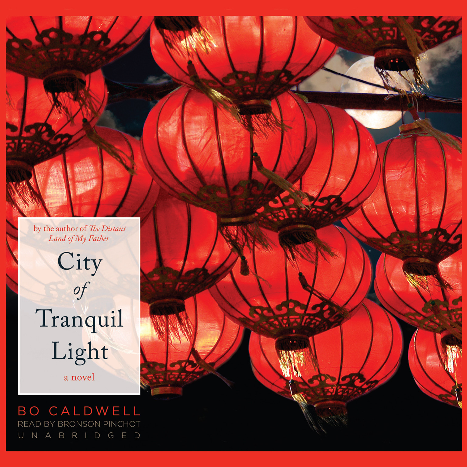 Printable City of Tranquil Light: A Novel Audiobook Cover Art