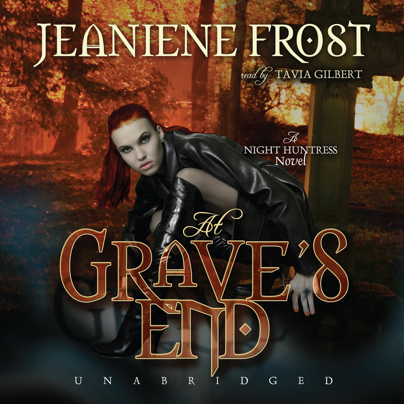 Printable At Grave's End: A Night Huntress Novel Audiobook Cover Art