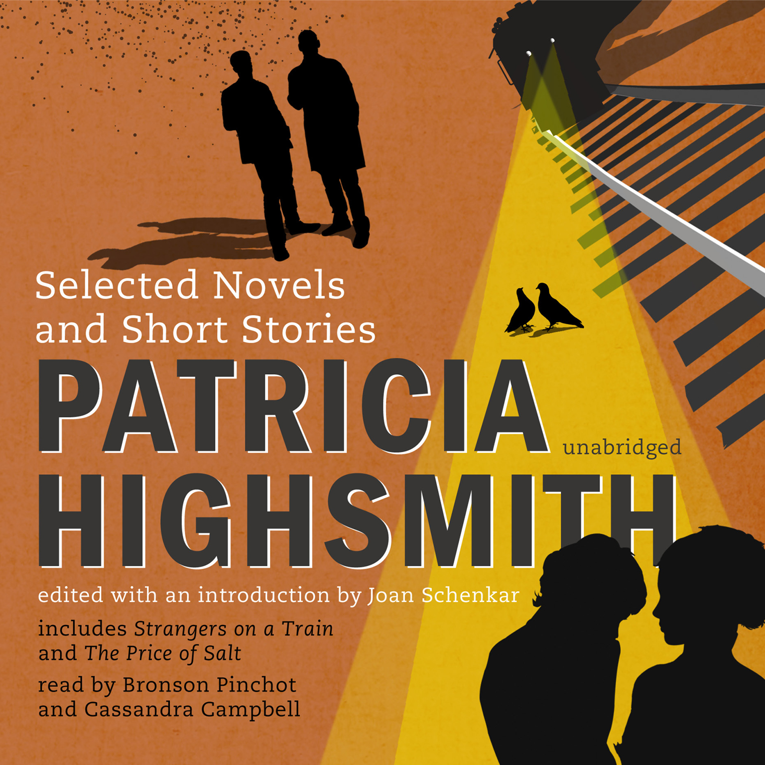Printable Patricia Highsmith: Selected Novels and Short Stories Audiobook Cover Art