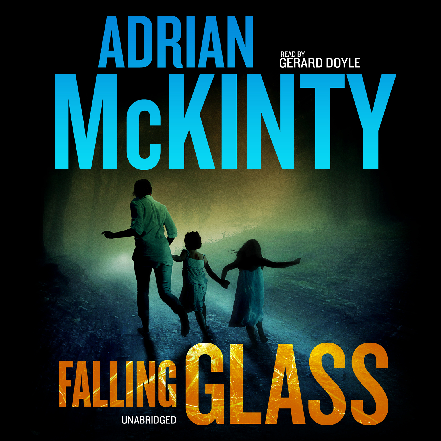 Printable Falling Glass Audiobook Cover Art