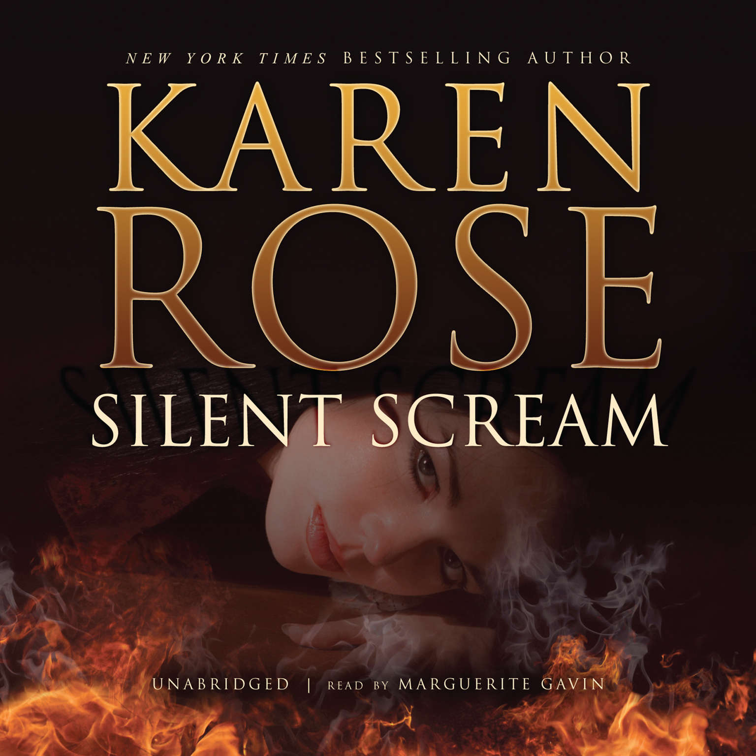 Printable Silent Scream Audiobook Cover Art