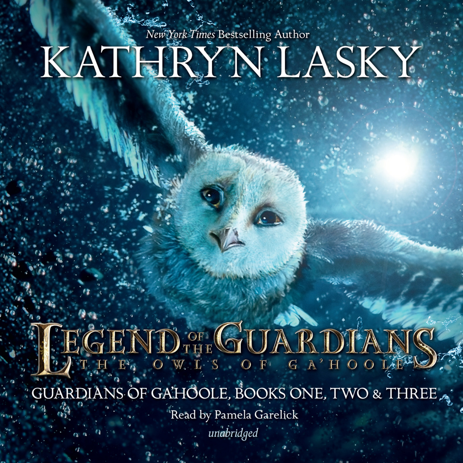 Printable Legend of the Guardians: The Owls of Ga'Hoole: Guardians of Ga'Hoole, Books One, Two, and Three Audiobook Cover Art