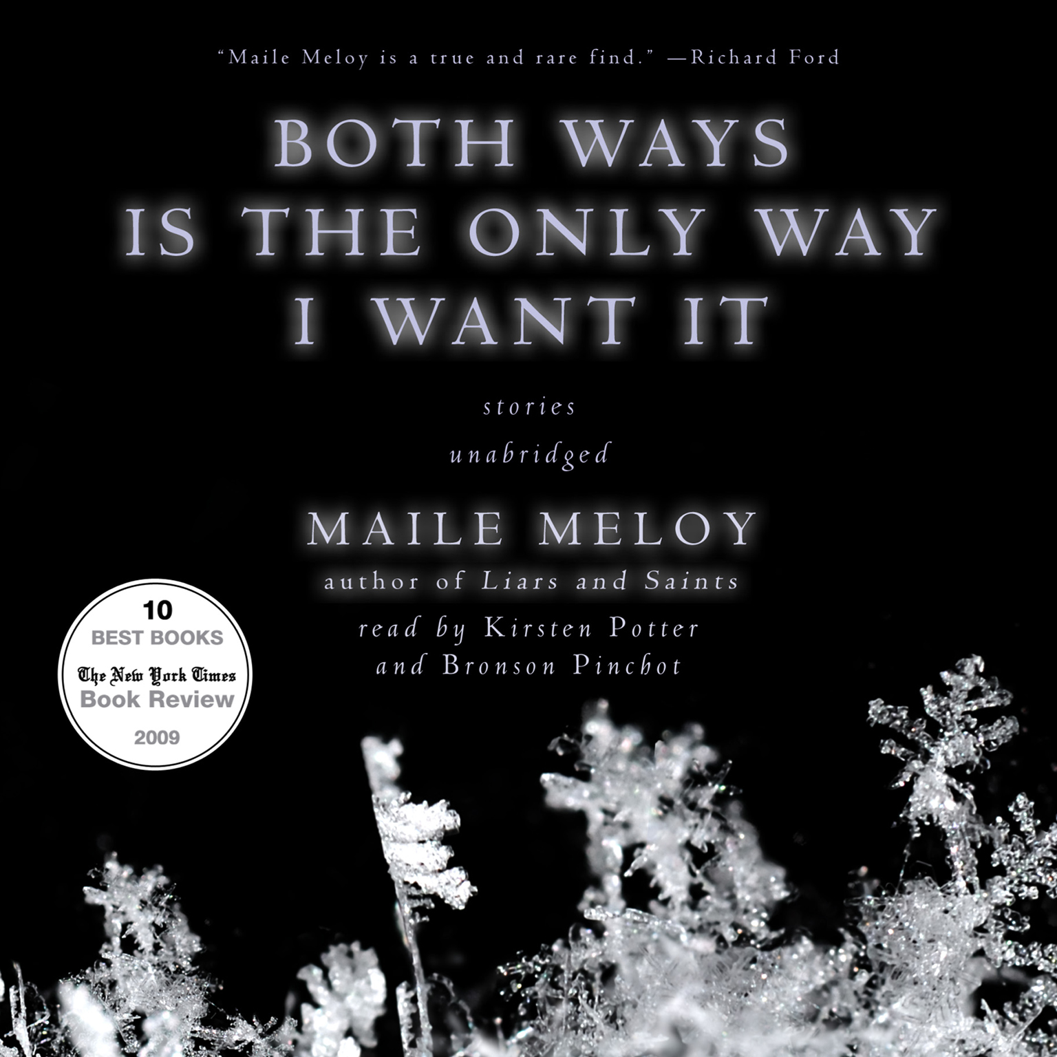 Printable Both Ways Is the Only Way I Want It Audiobook Cover Art