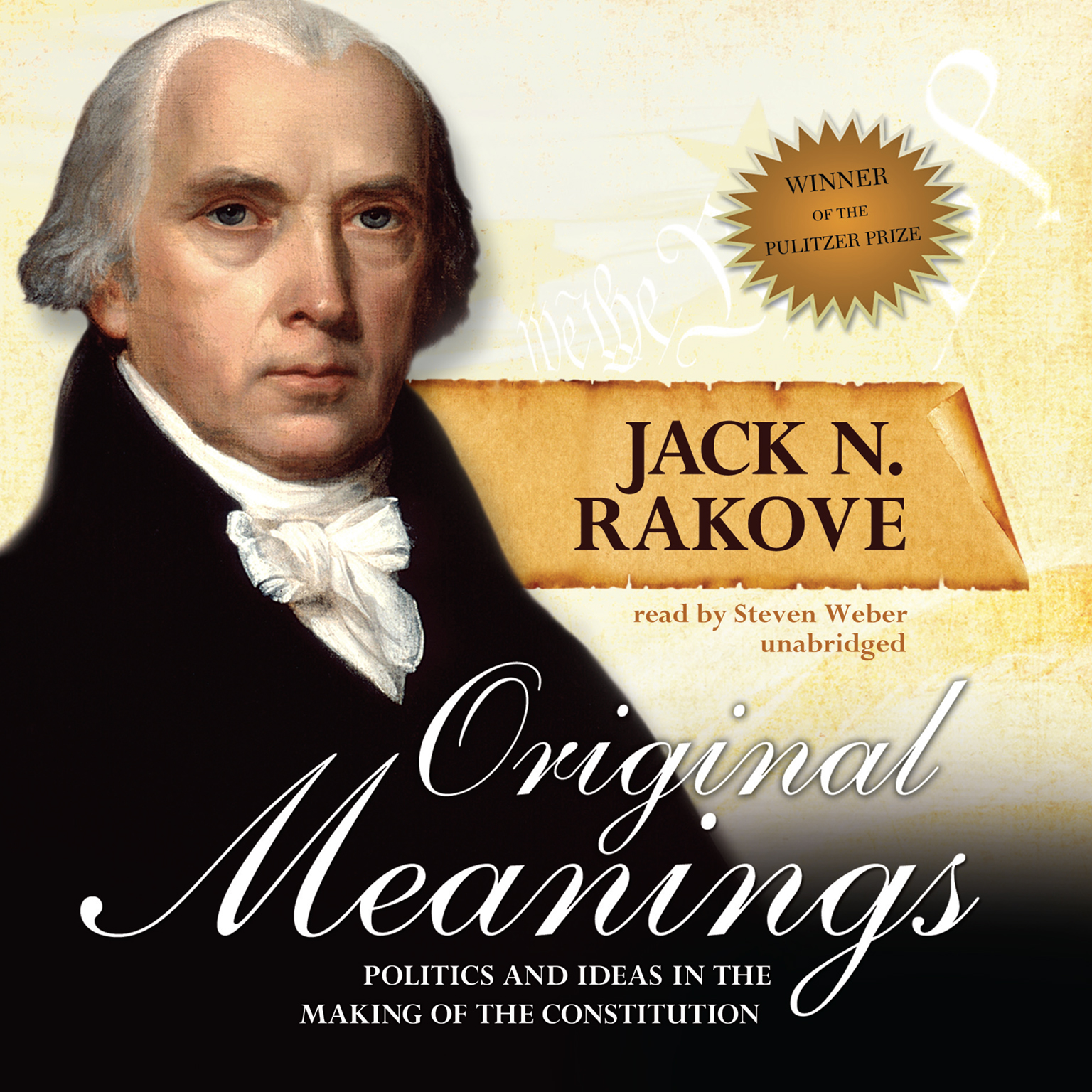 Printable Original Meanings: Politics and Ideas in the Making of the Constitution Audiobook Cover Art
