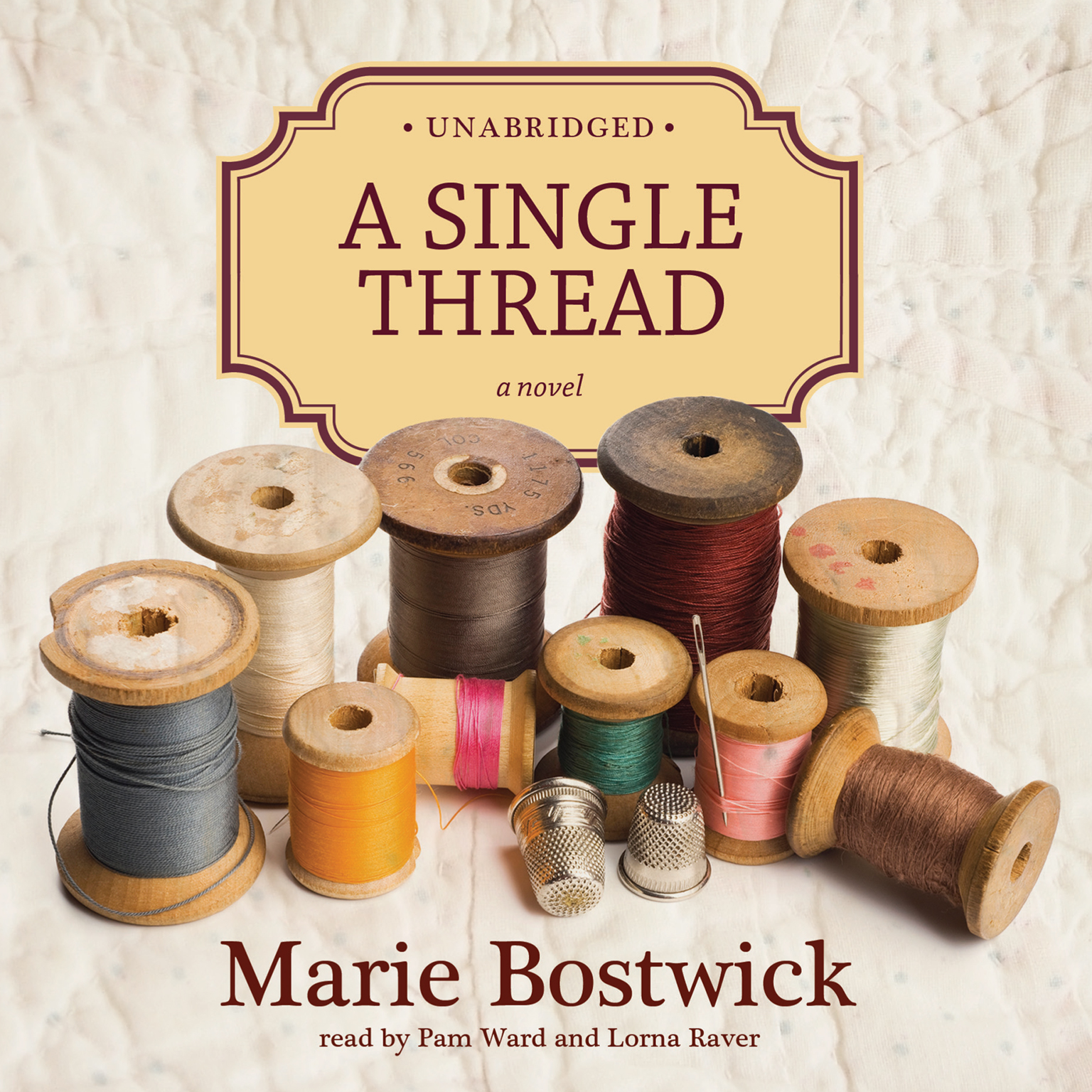 Printable A Single Thread Audiobook Cover Art