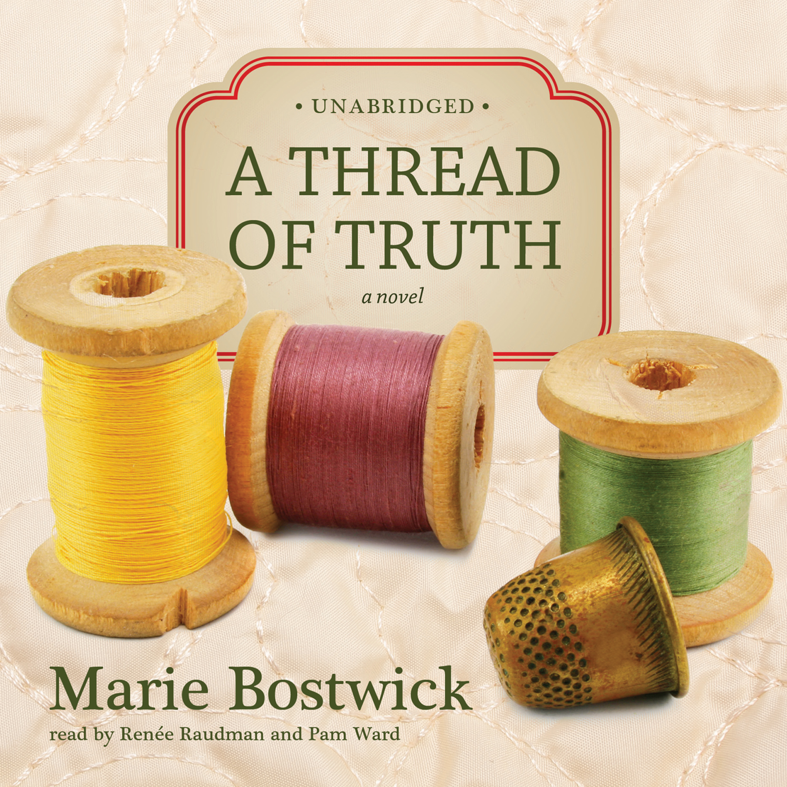 Printable A Thread of Truth Audiobook Cover Art