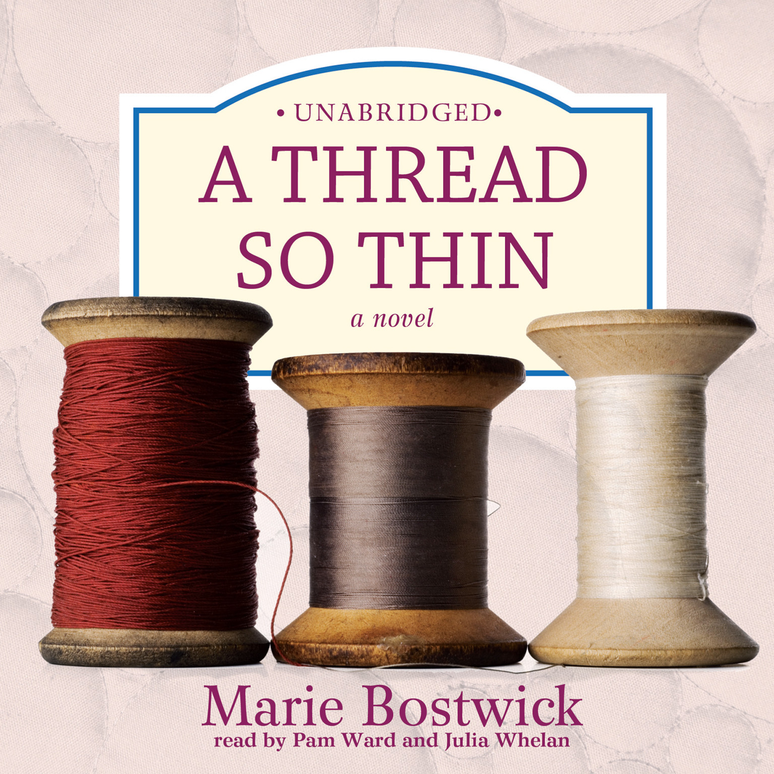 Printable A Thread So Thin Audiobook Cover Art
